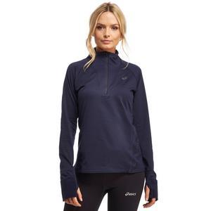Asics Women's Long Sleeve Windblock Half Zip Top