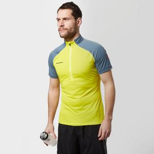 MAMMUT Men's Atacazo Light Zip T-Shirt