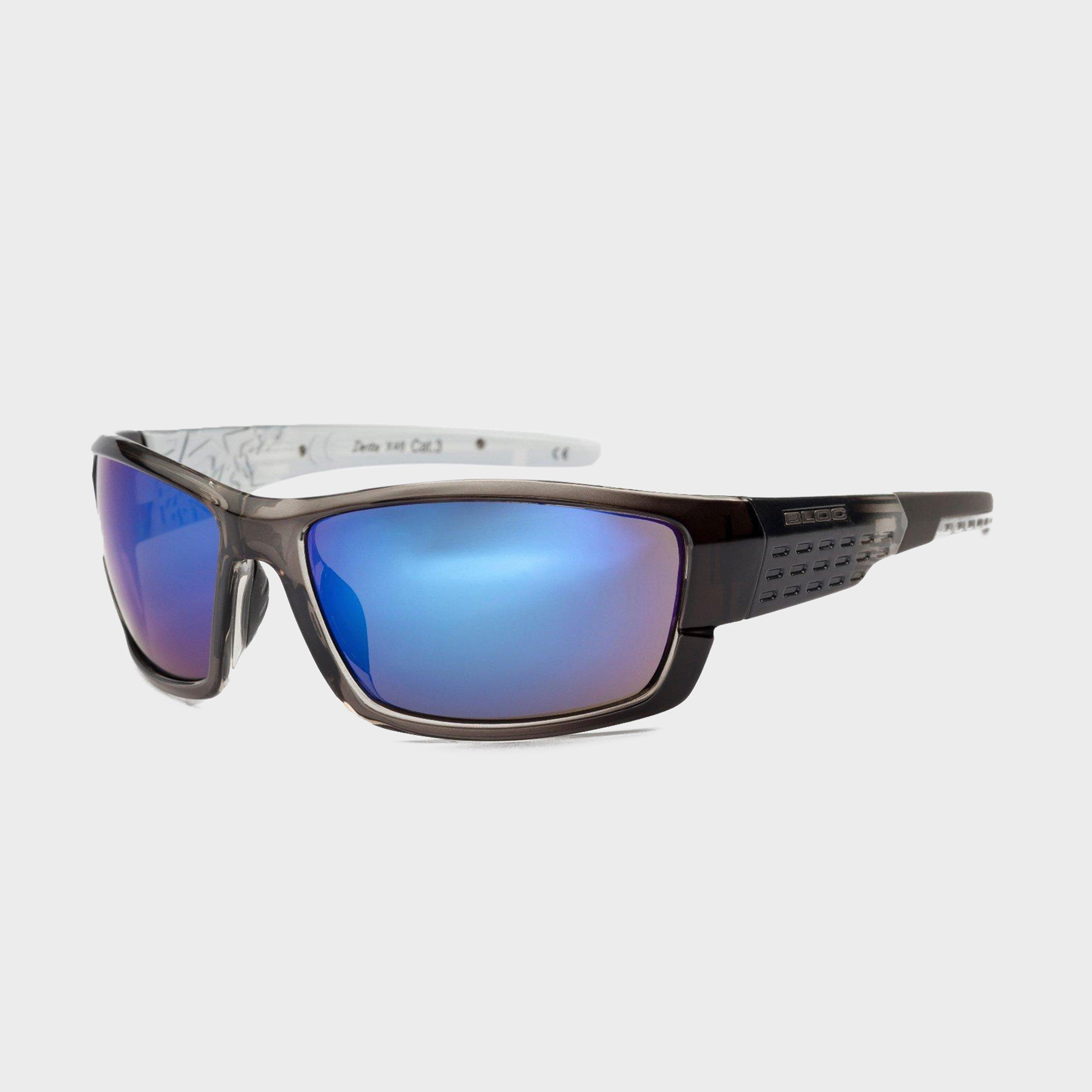 Bloc Delta X46 Sunglasses - Black/blk/blu  Black/blk/blu