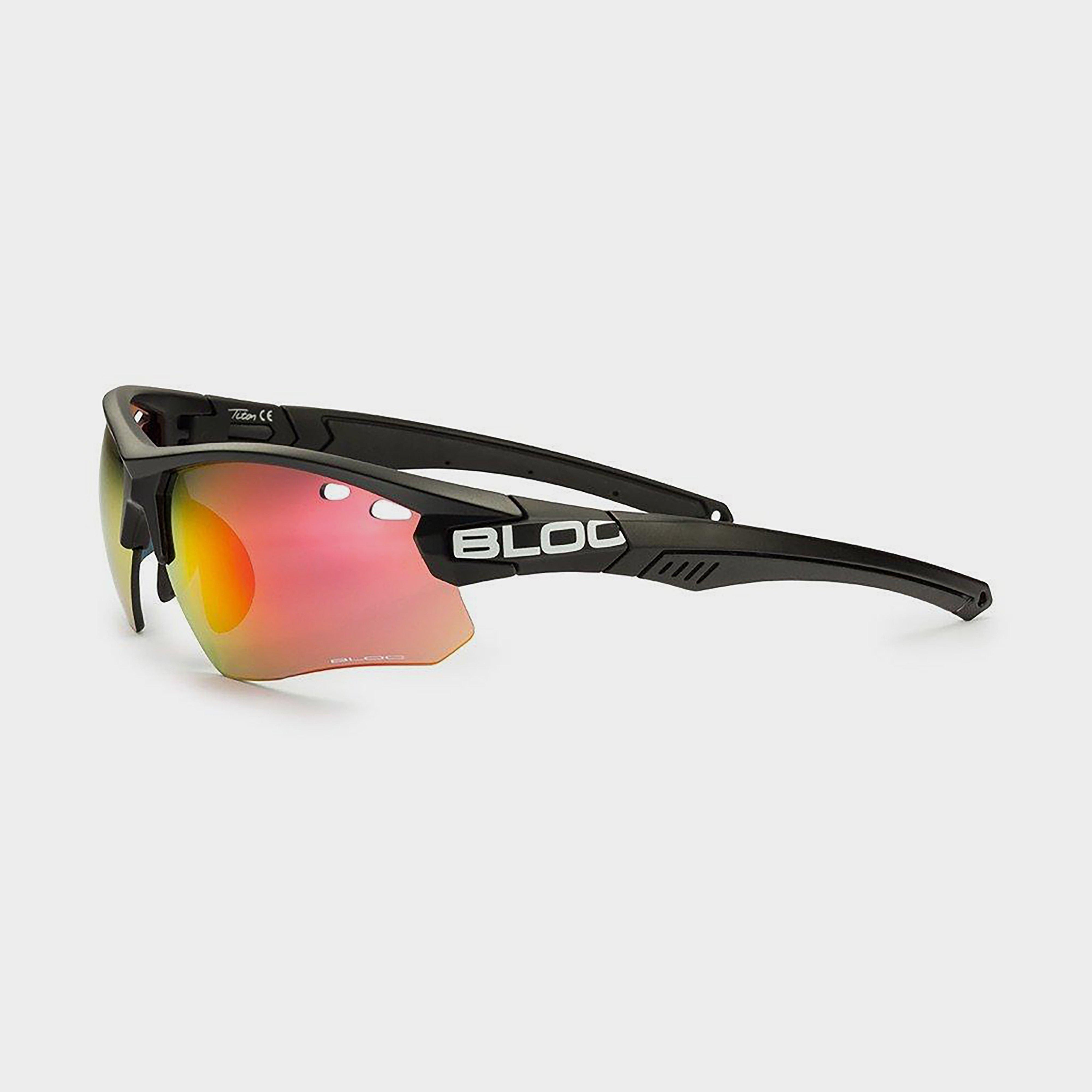 Bloc Titan Xr630 Sunglasses - Black/blk/rd  Black/blk/rd