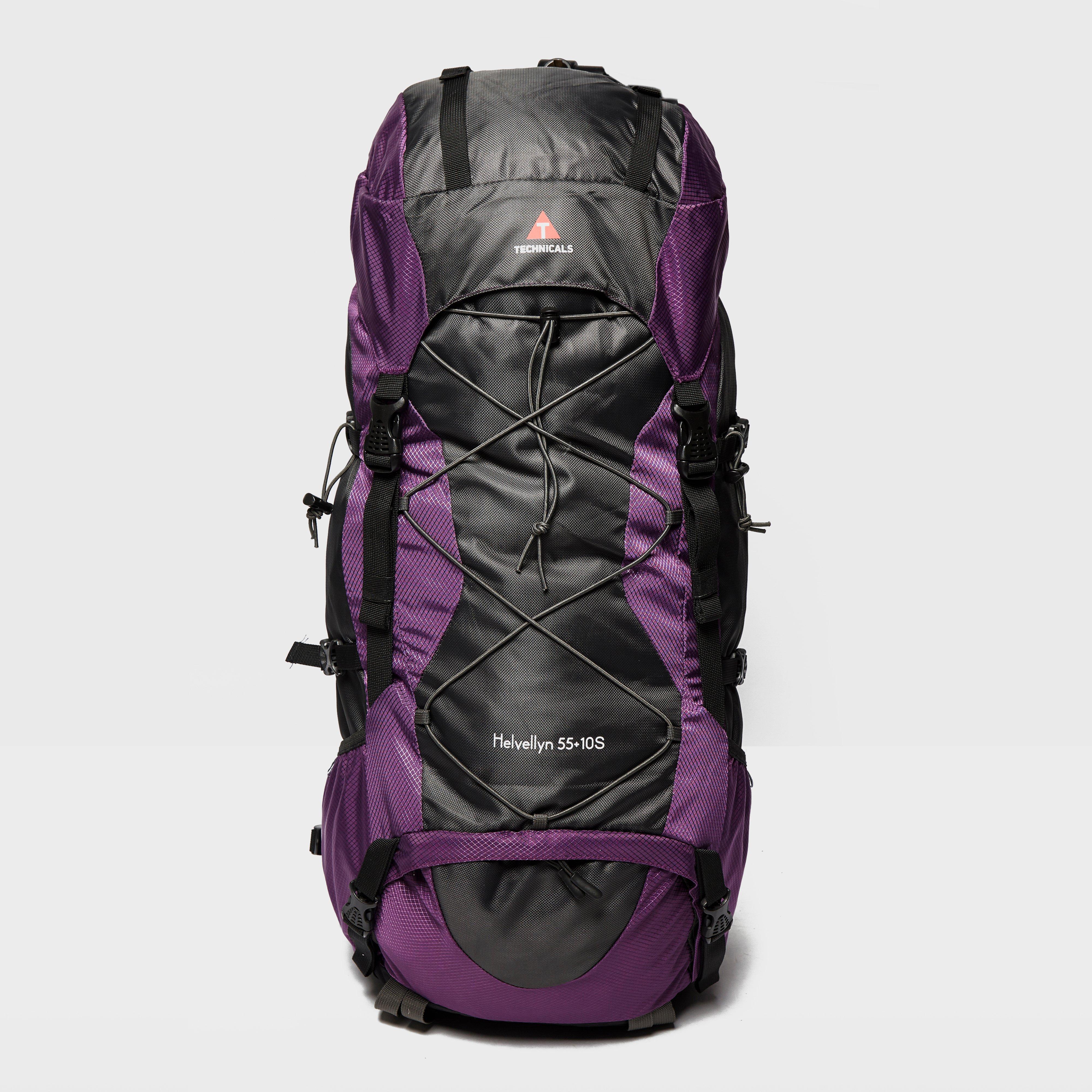 Technicals Helvellyn 5510L Short Rucksack  Purple Purple