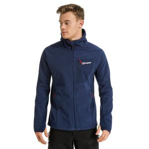 BERGHAUS Men's Ben Oss Windproof Hooded Fleece Jacket