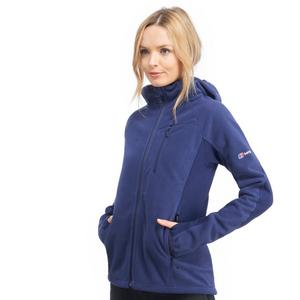 BERGHAUS Women's Ben Oss Windproof Hooded Fleece Jacket