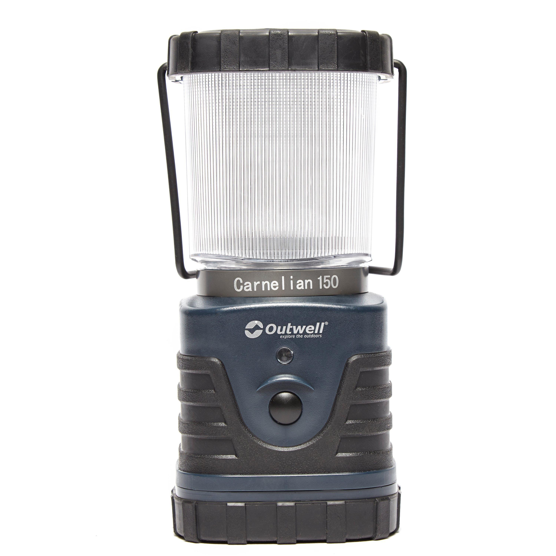 Outwell Carnelian DC 150 Lantern, Black