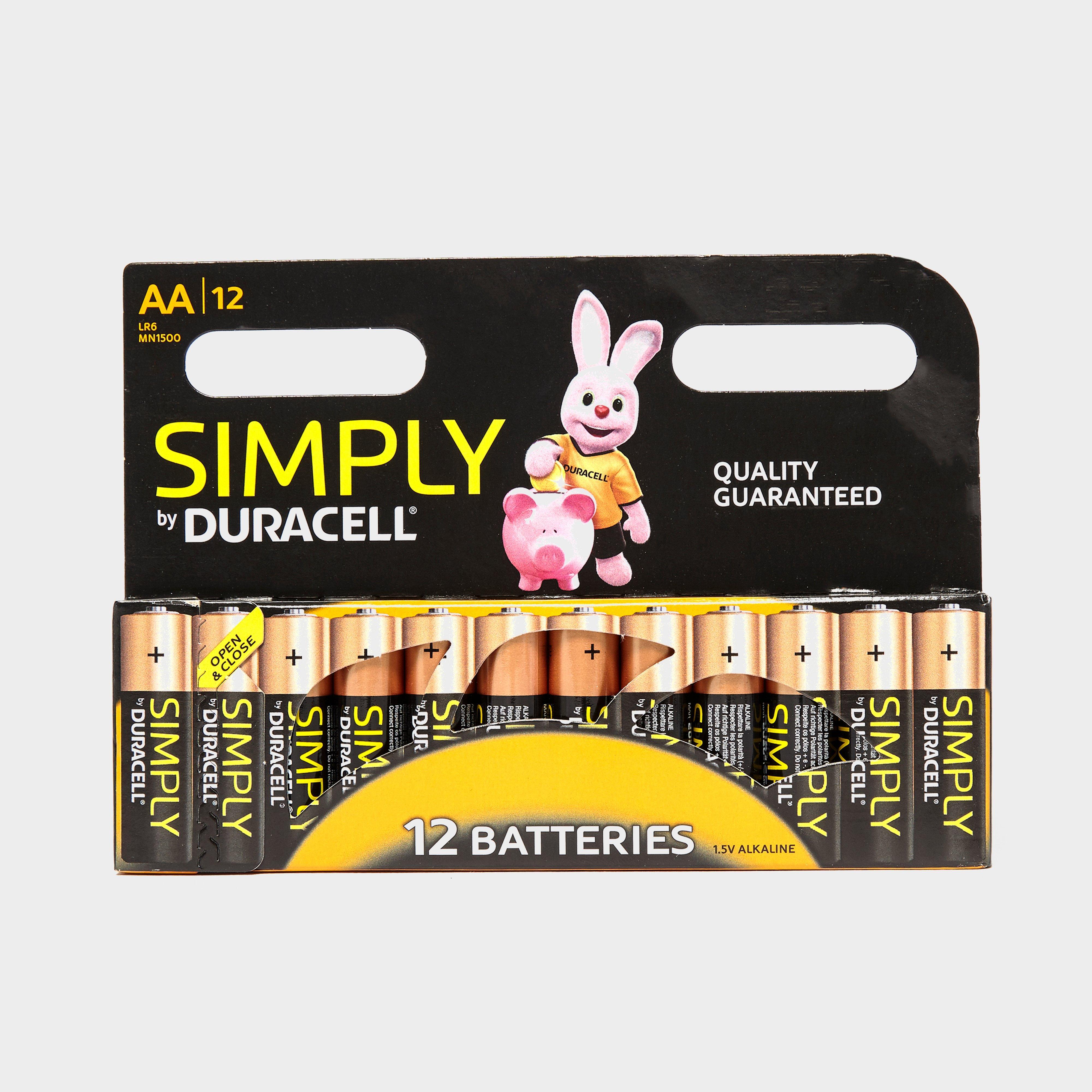Duracell AA Batteries 12 Pack Assorted