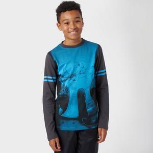 ANIMAL Boys' Slope Long Sleeve T-Shirt