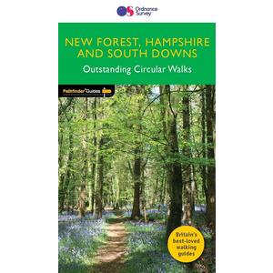 PATHFINDER Pathfinder 12 - Hampshire with the  New Forest and South Downs National Parks