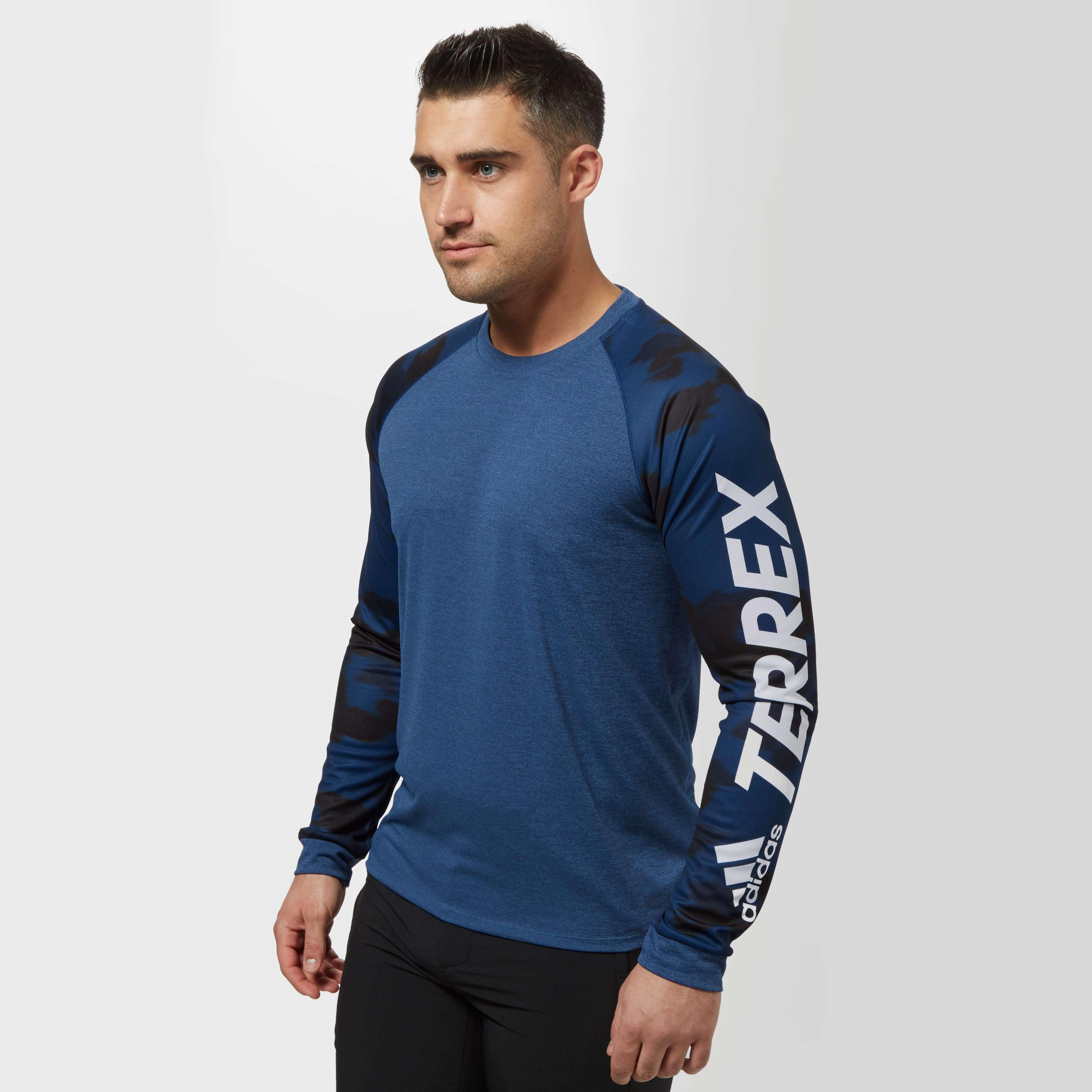 ADIDAS Men's Trailcross Long Sleeve T-Shirt