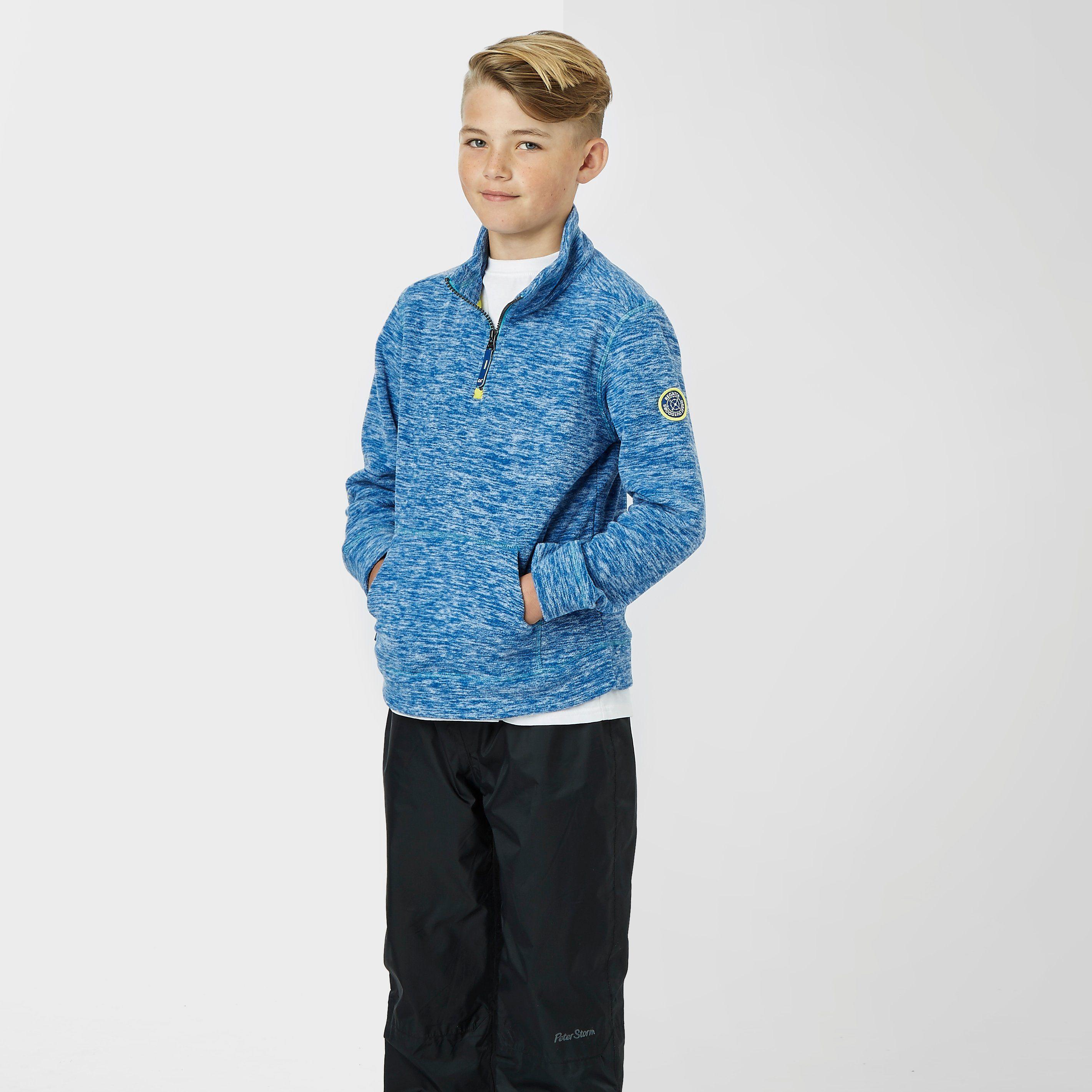 REGATTA Boy's Berty Quarter-Zip Fleece