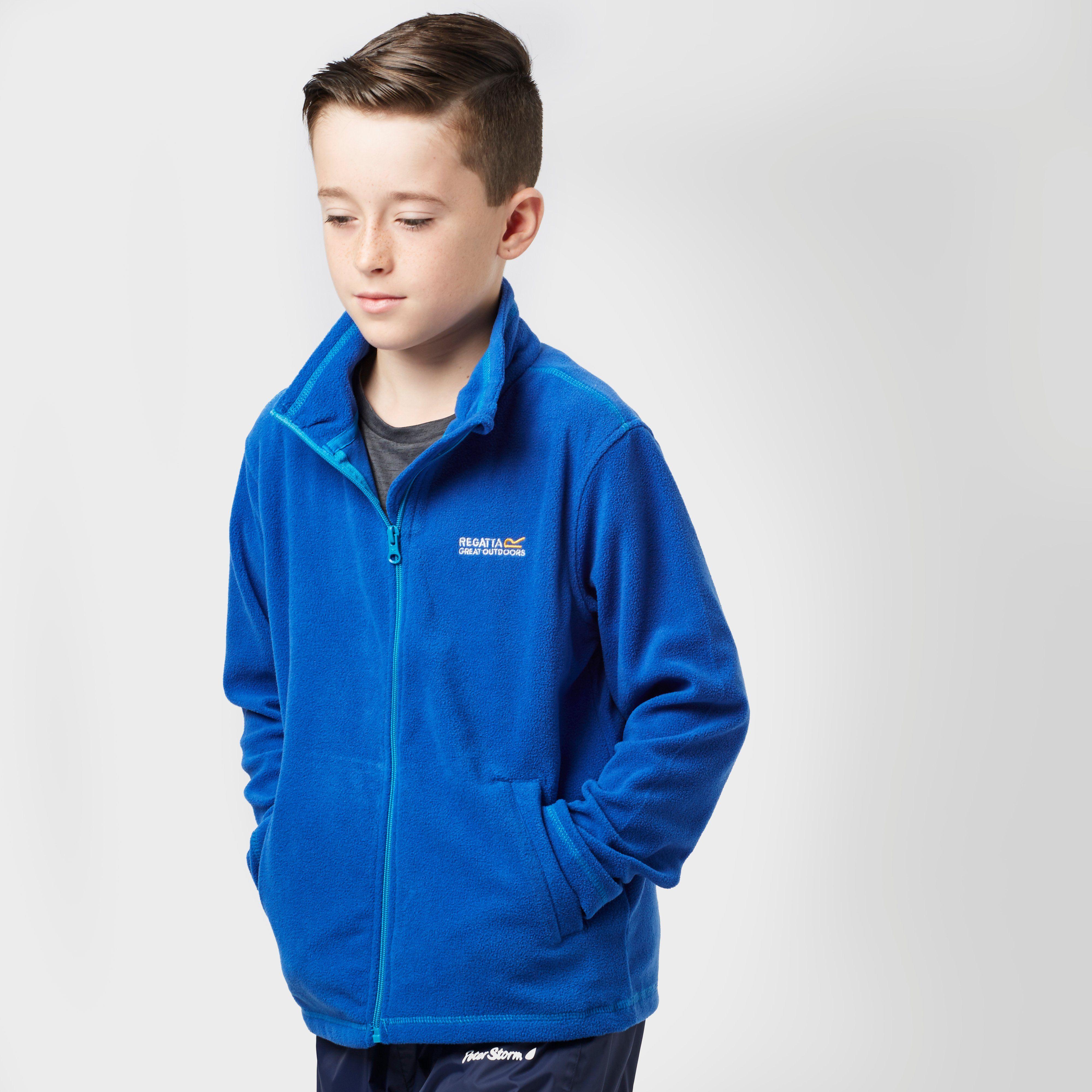 REGATTA Boy's King Full Zip Fleece