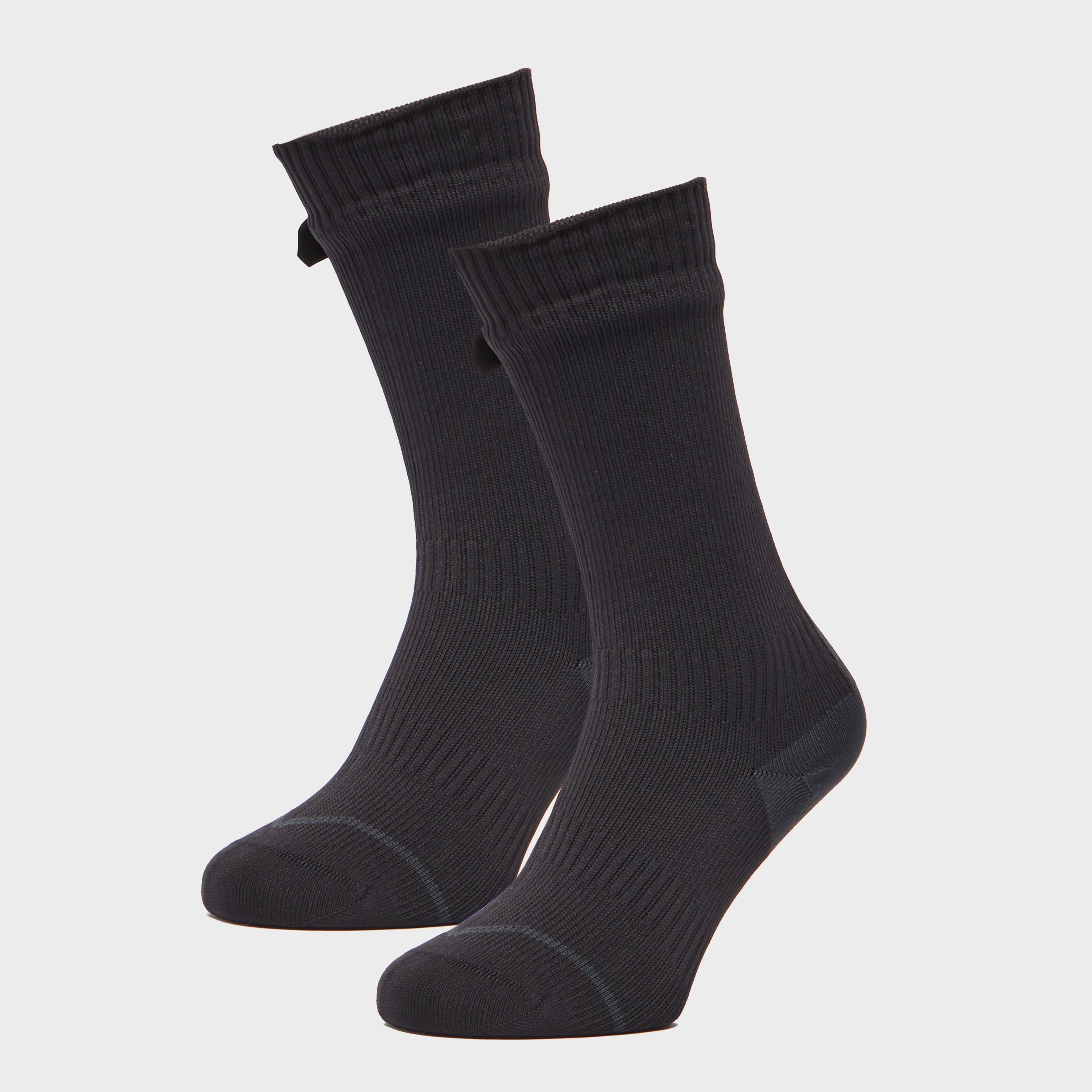 SEALSKINZ Men's Road Thin Mid Hydrostop Socks