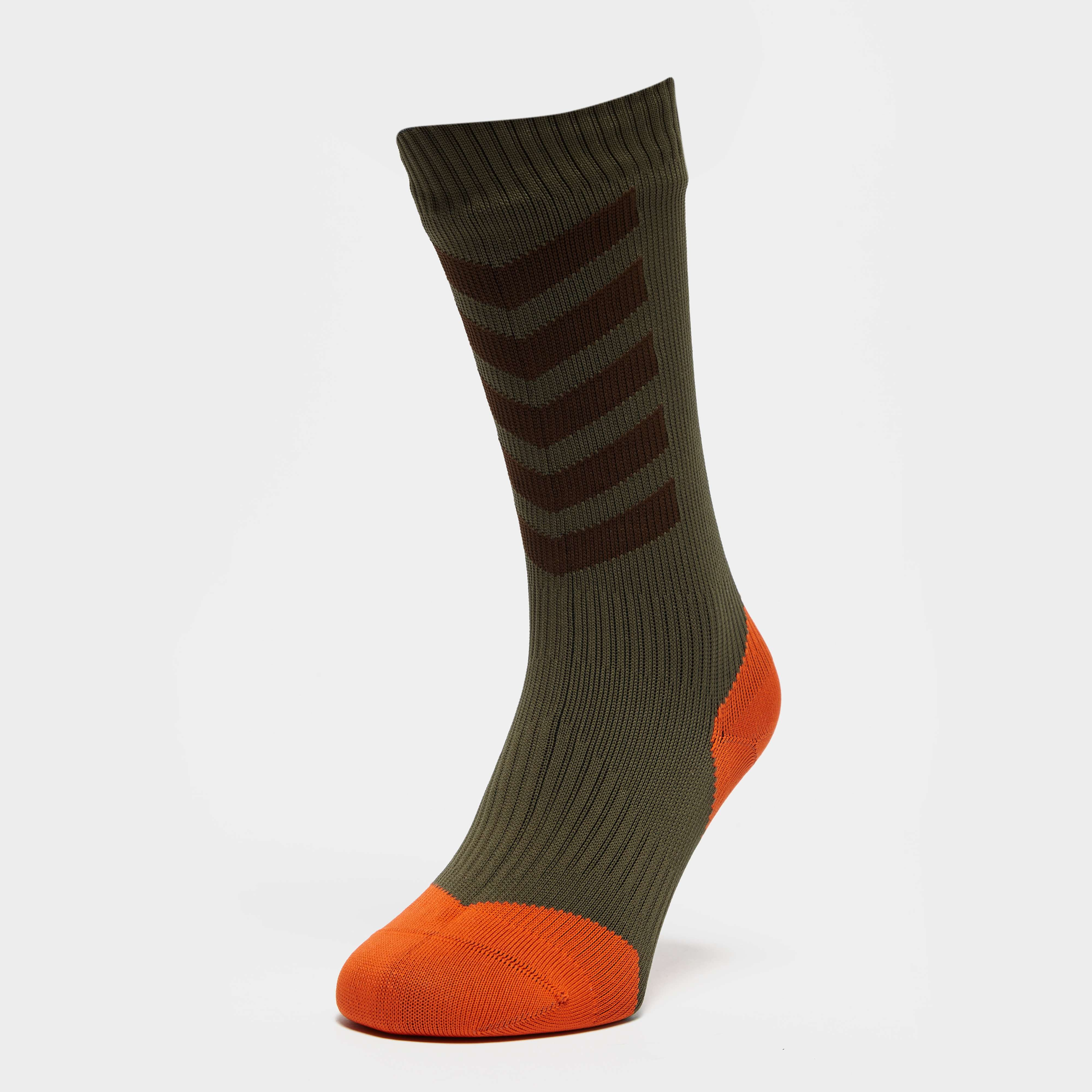 SEALSKINZ Men's MTB Mid Length Hydrostop Sock