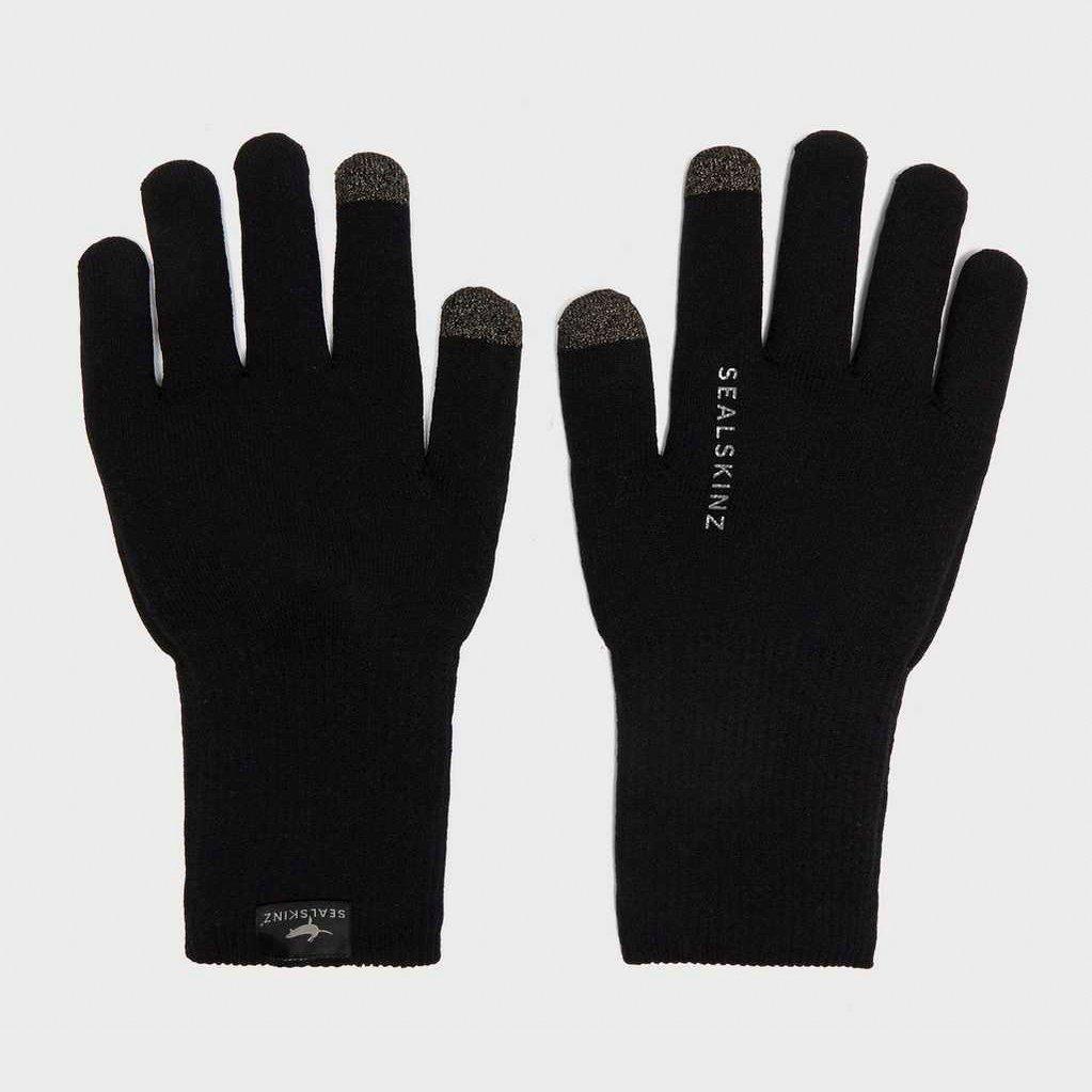 Sealskinz Ultra Grip Gloves - Black, Black