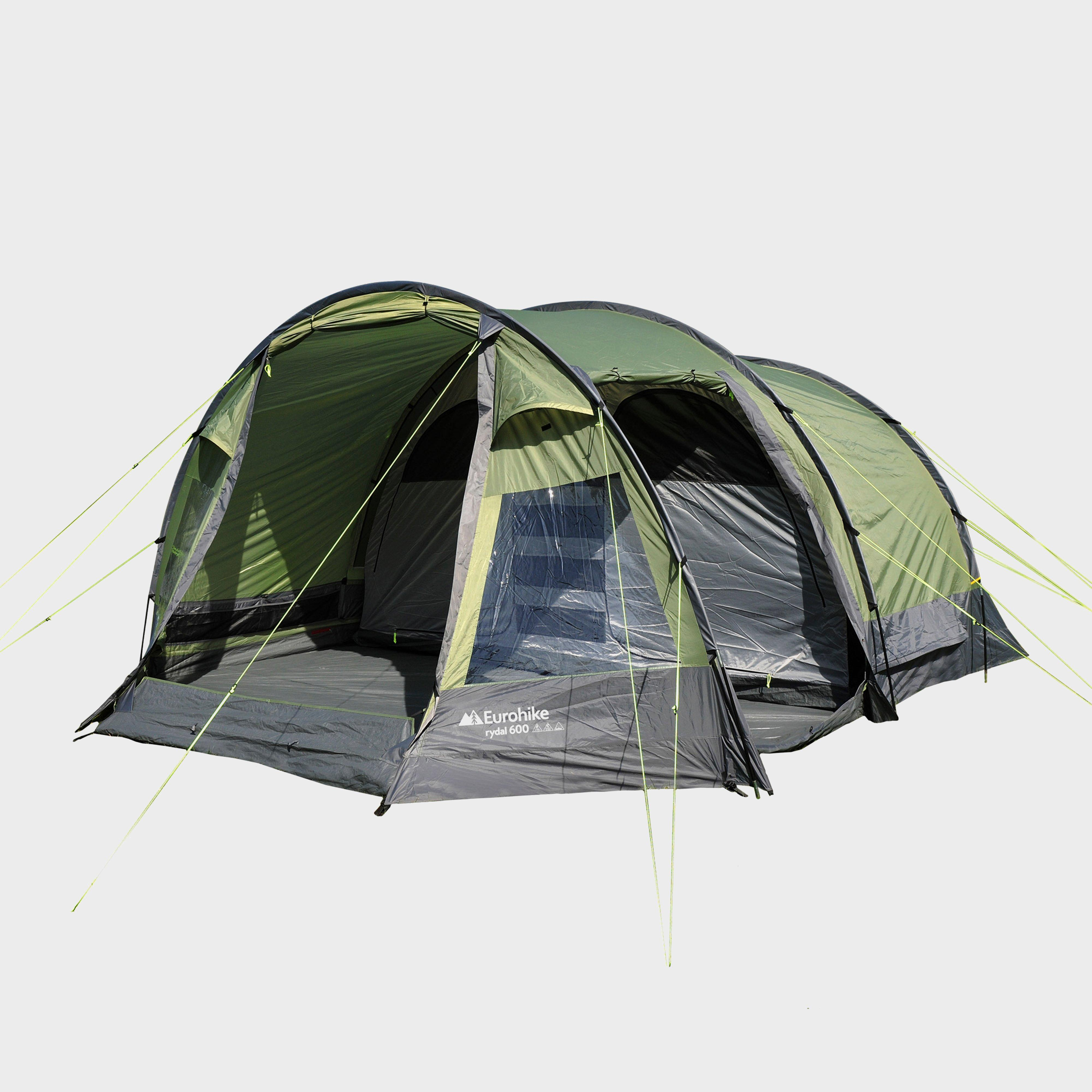 Eurohike Rydal 600 6 Person Tent Green