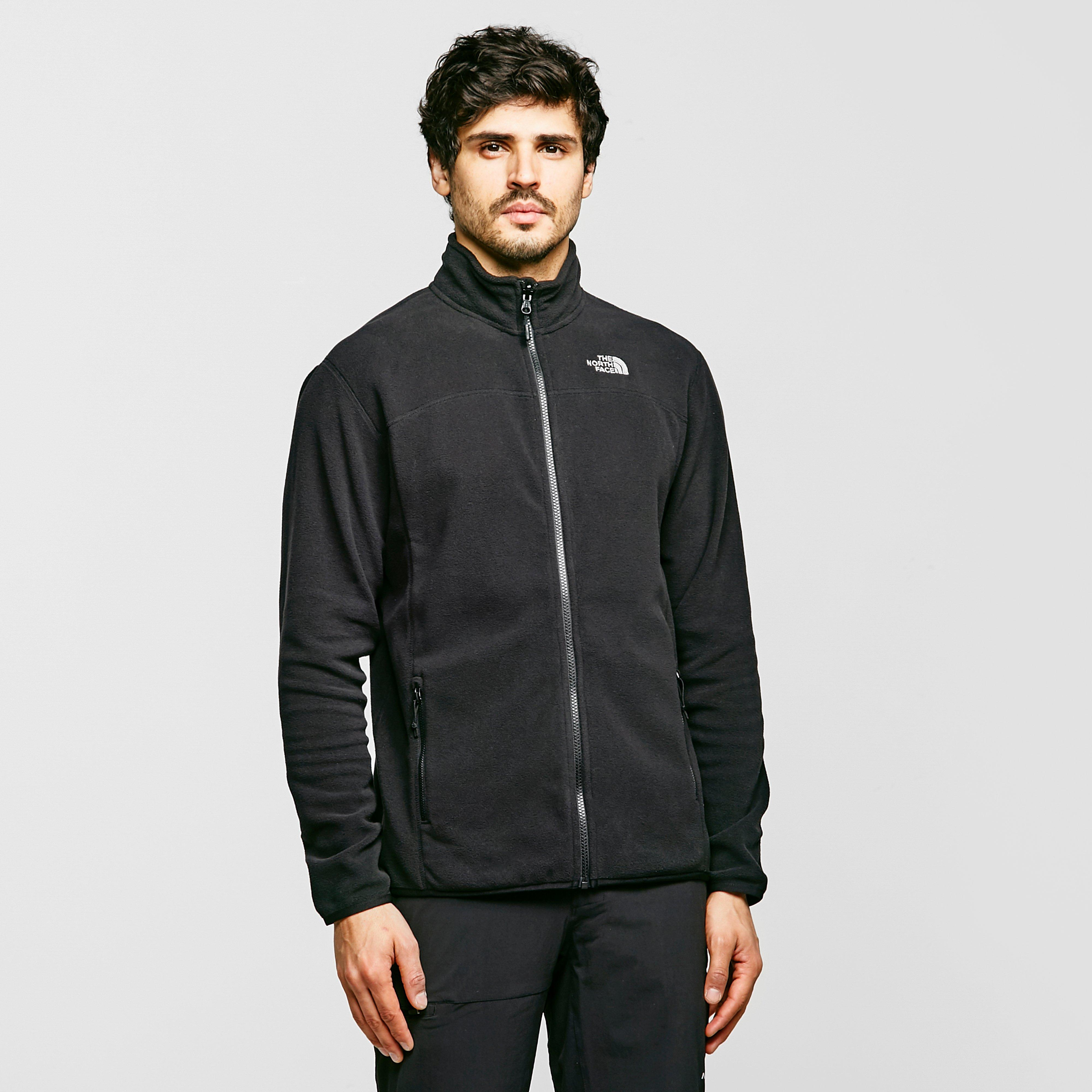 Types of men's fleece jackets Fleece is a synthetic material usually made of polyester, and there are three fleece weight classes: light, mid, and heavy. Lighter choices provide optimal breathability for intense activities, while mid weight and heavier fleece jackets are ideal for general use.