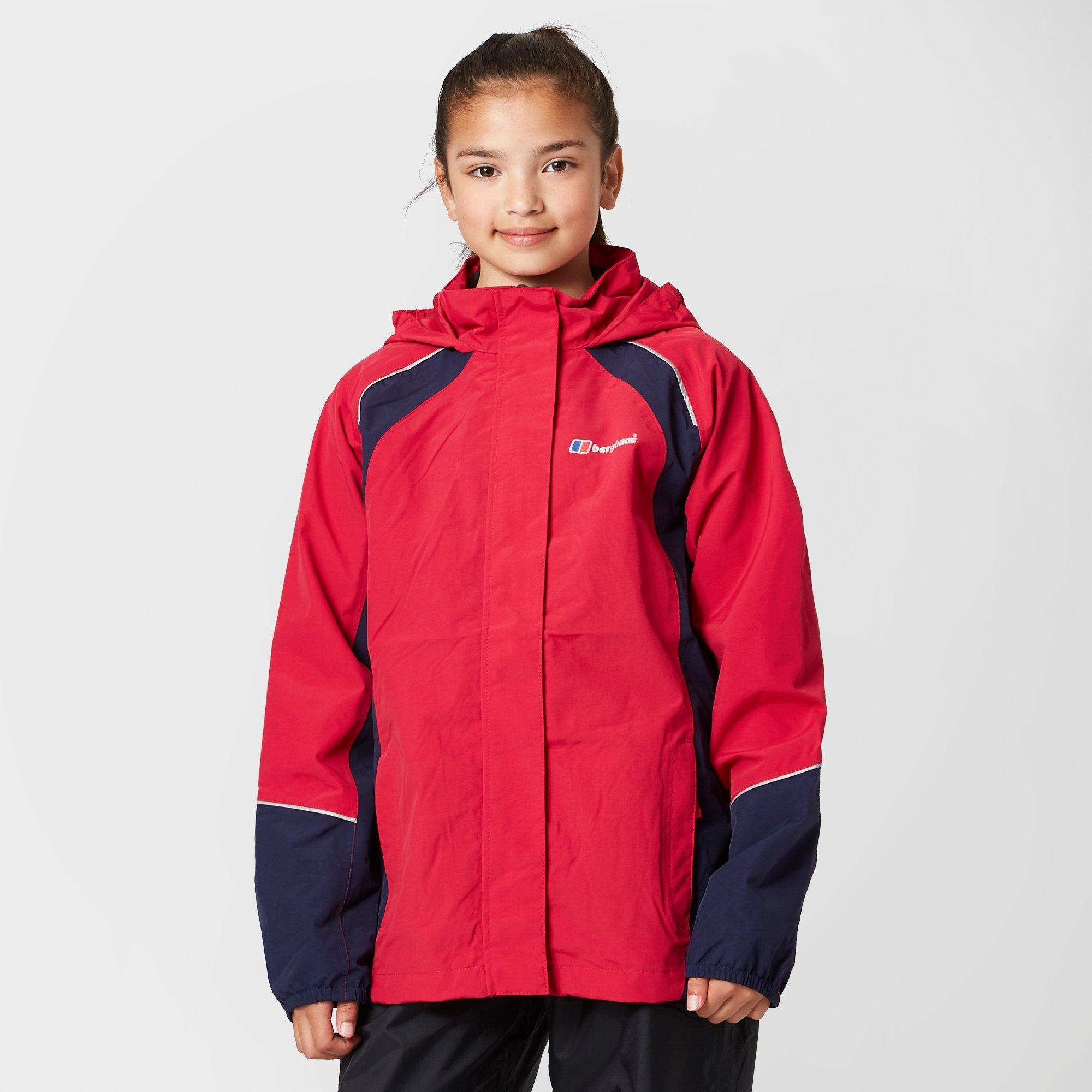 Berghaus Kids Callander Waterproof Jacket - Pink  Pink