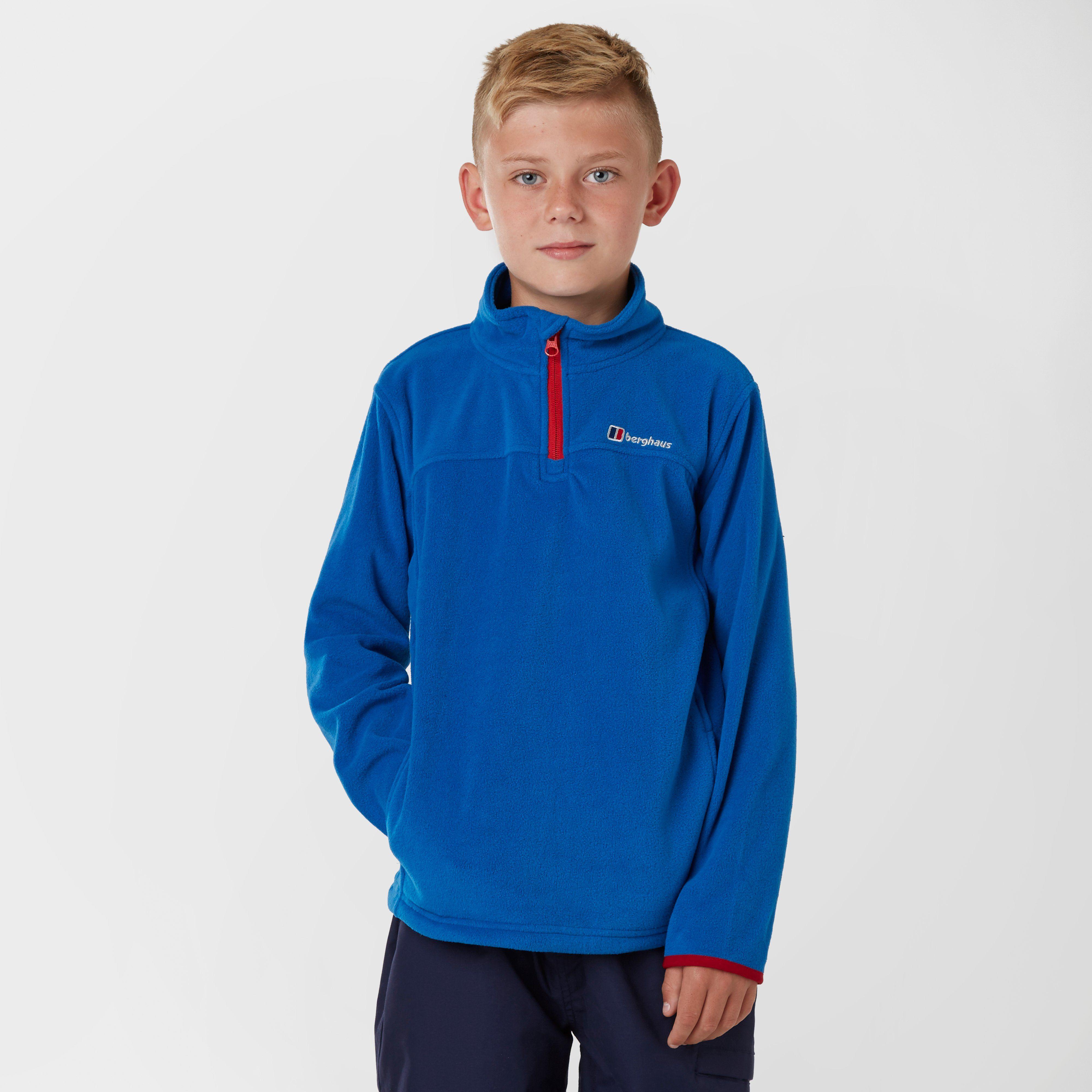 BERGHAUS Boy's Tyndrum Half Zip Fleece