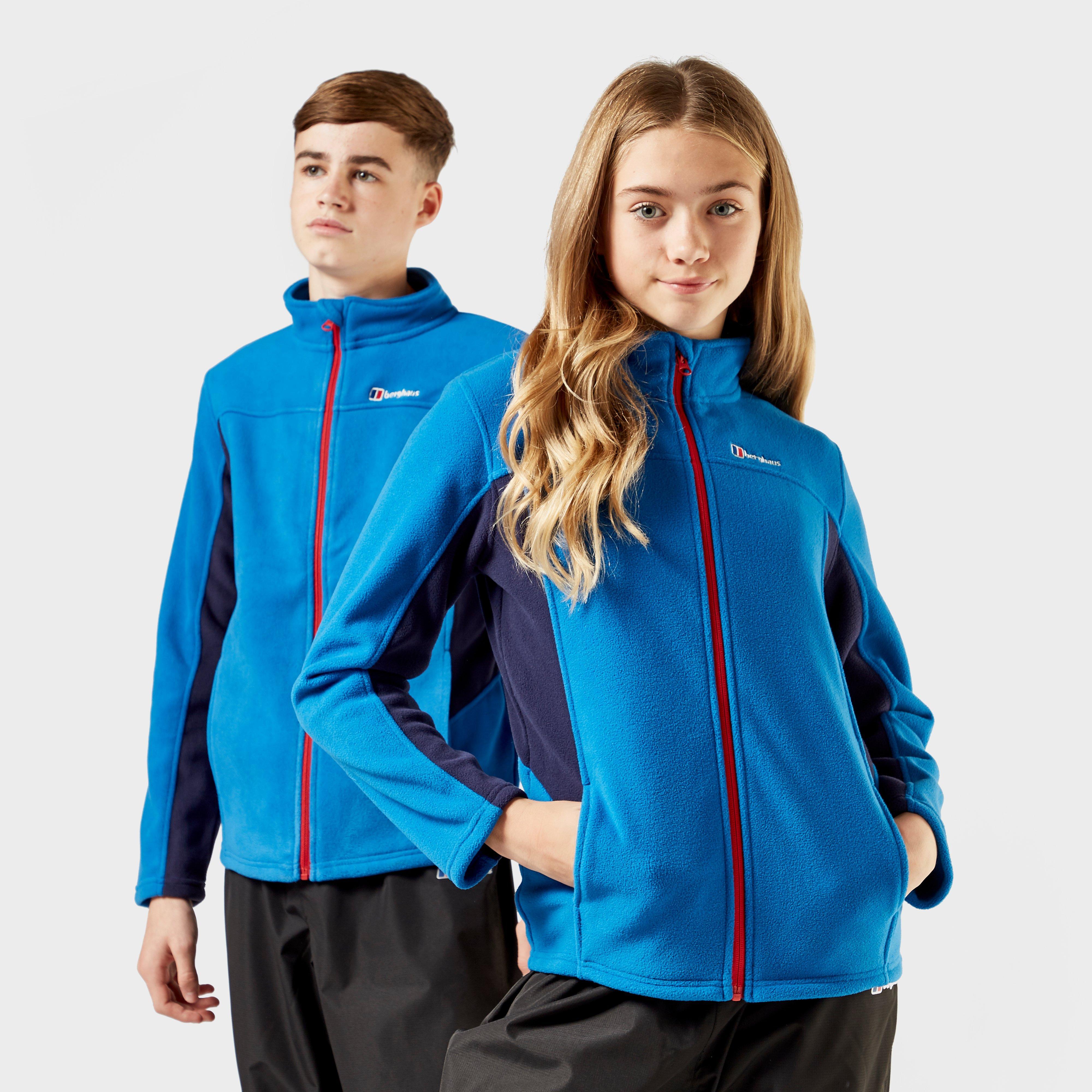 Berghaus Kids Tyndrum Full Zip Fleece Jacket - Blue/blue  Blue/blue