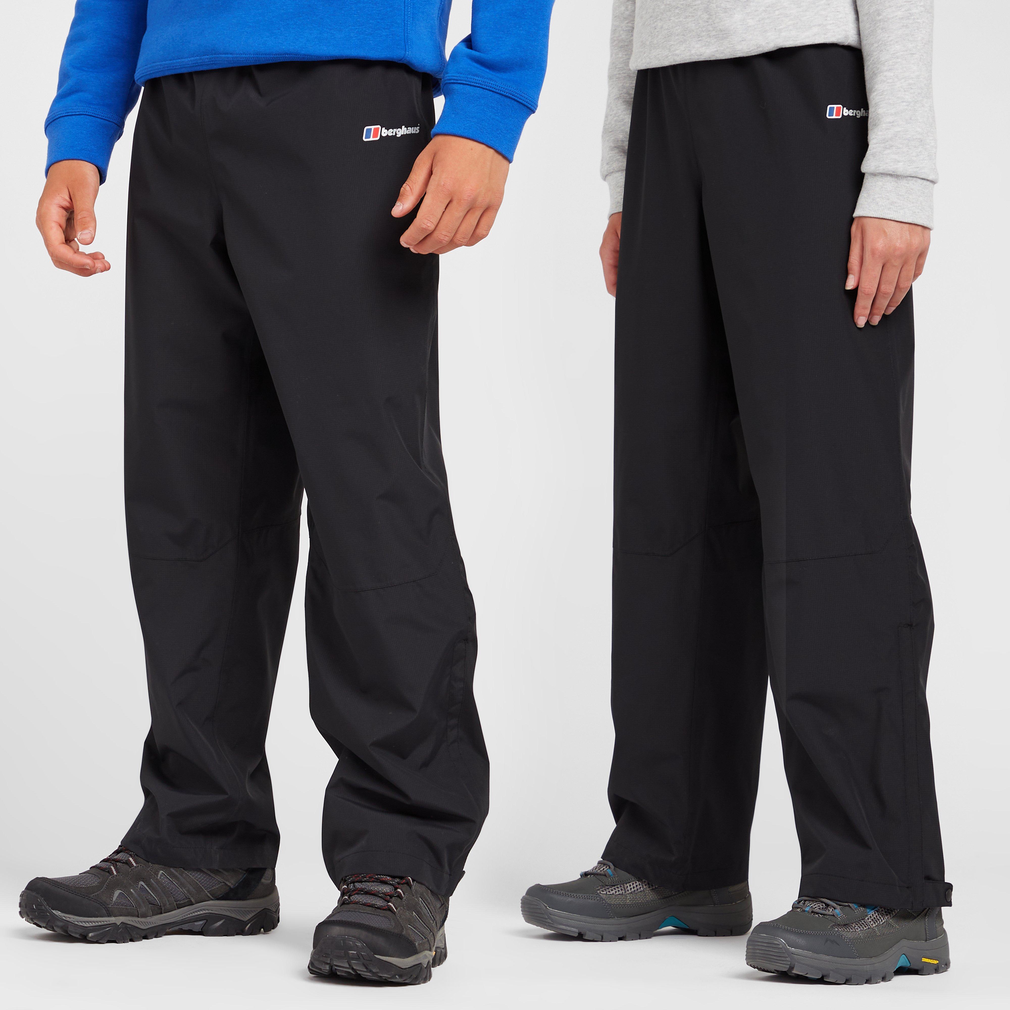 Berghaus Kids Drift Over Trousers - Black  Black