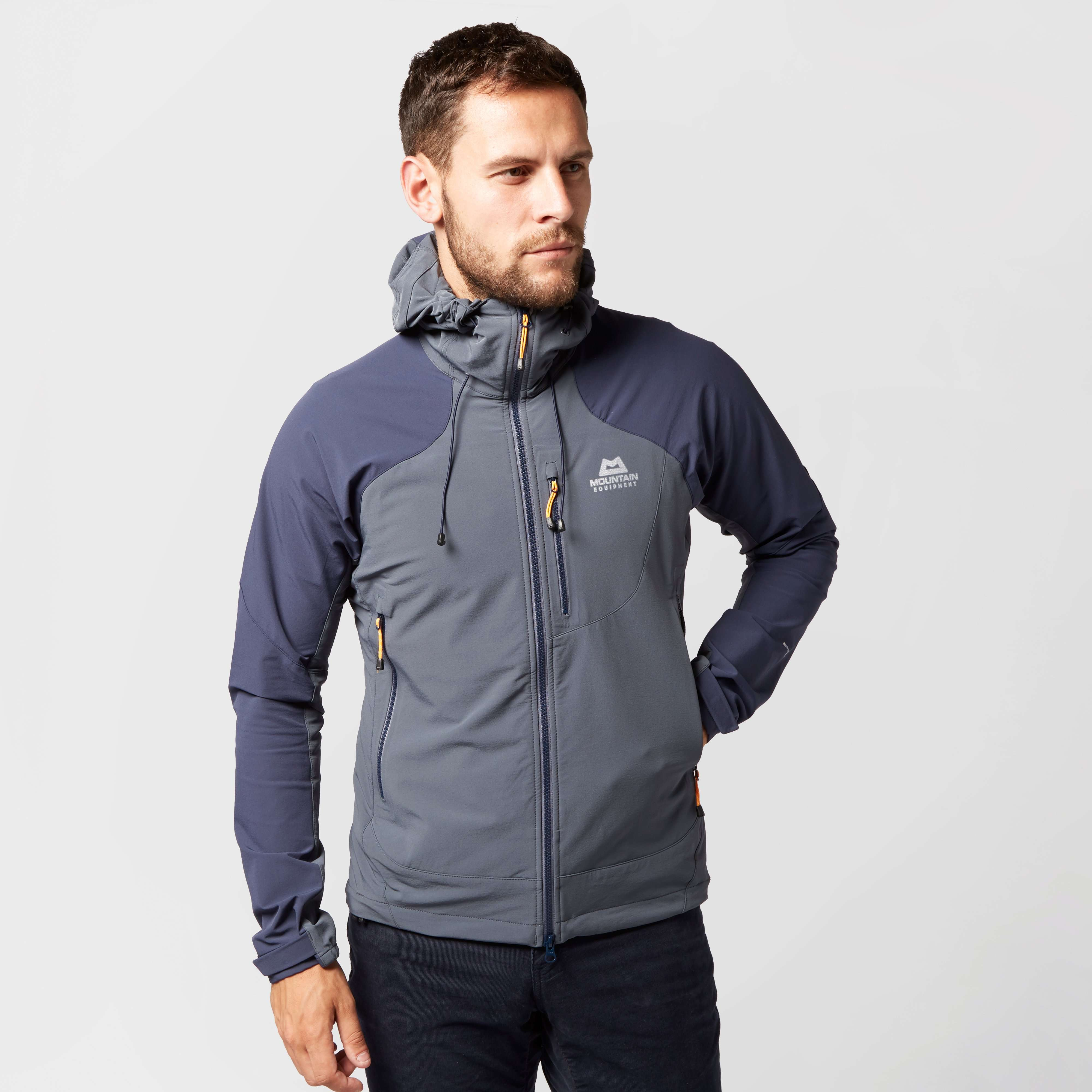 MOUNTAIN EQUIPMENT Men's Frontier Hooded Soft Shell Jacket