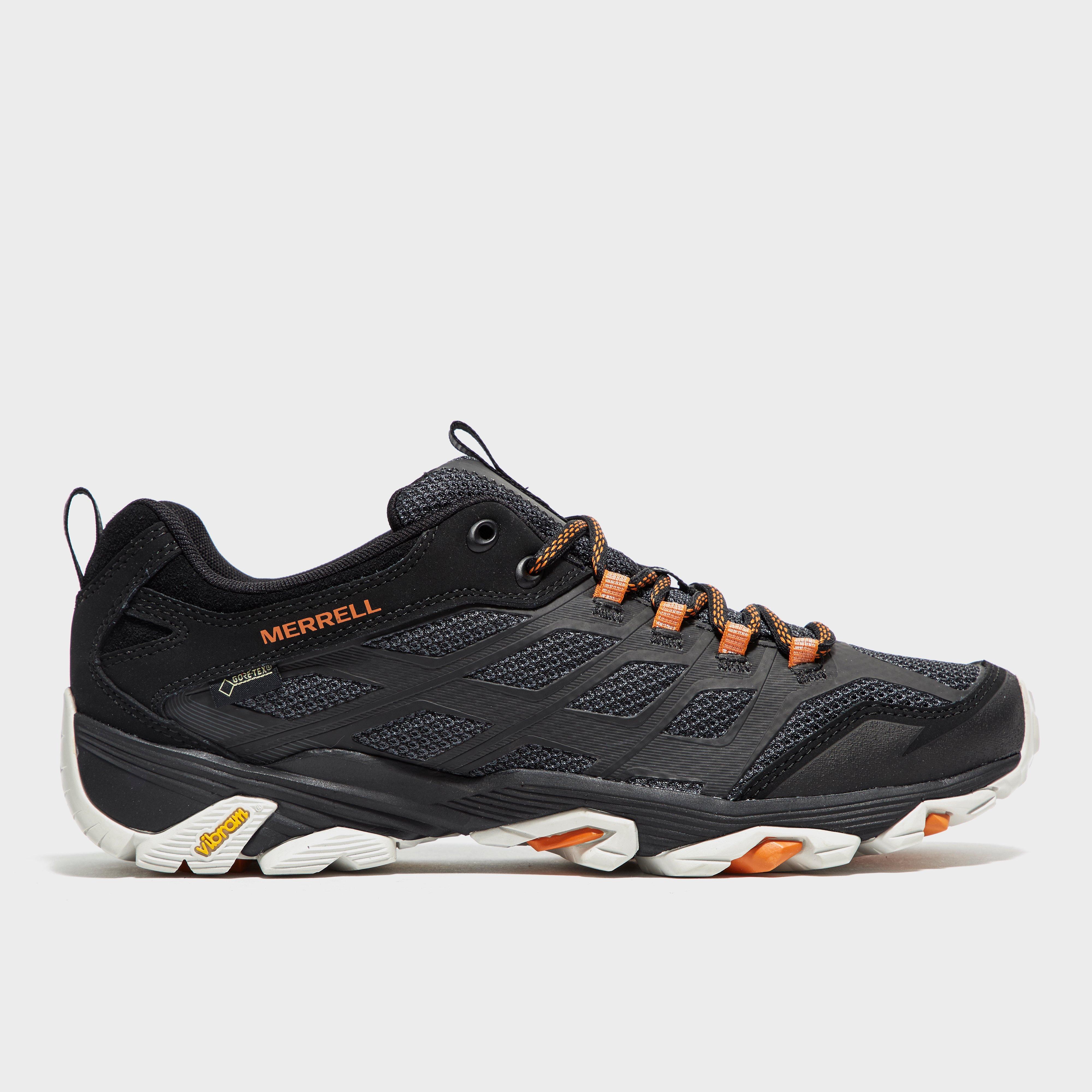 Merrell Mens Moab FST GORETEX Shoes Black