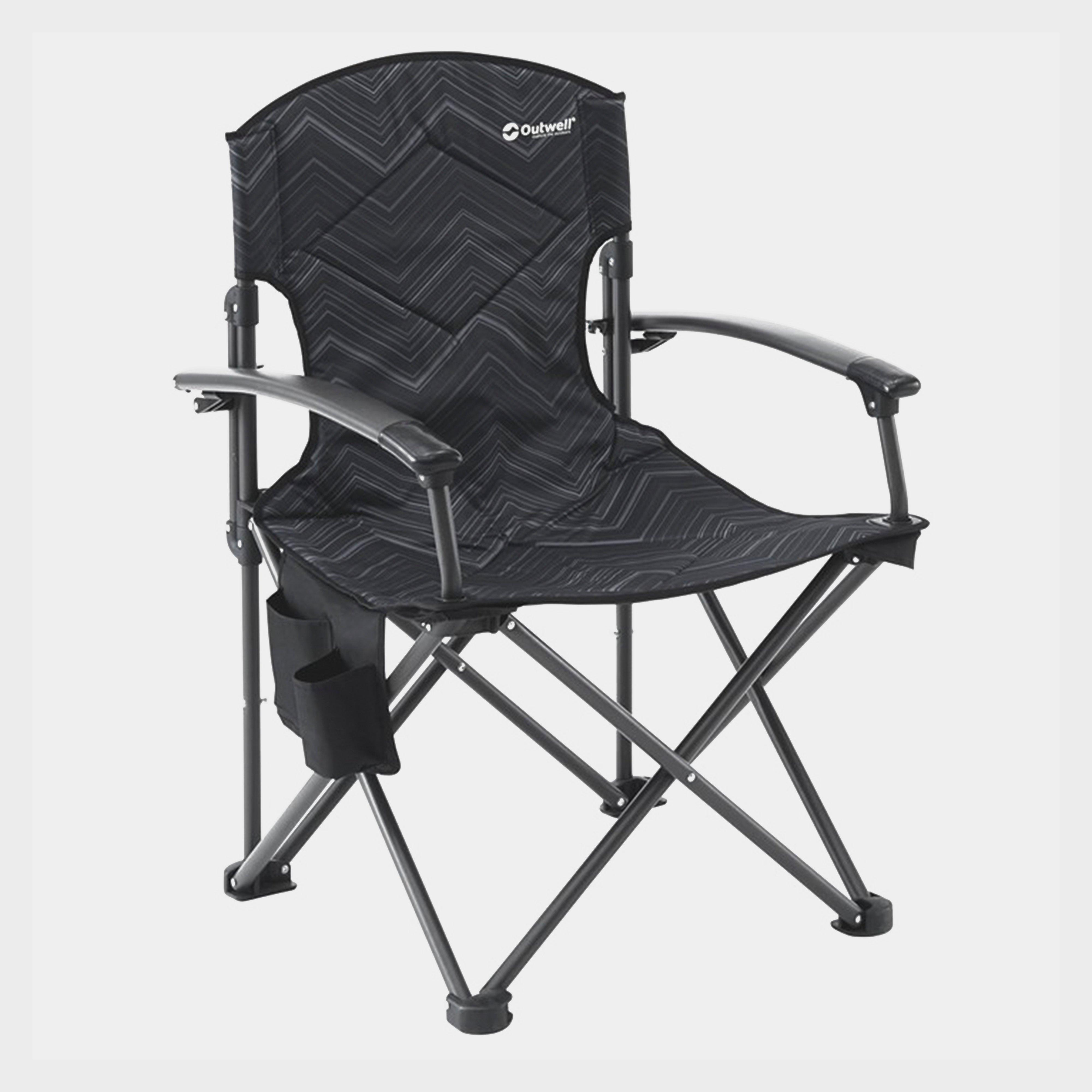 Outwell Fountain Hills Chair - Black, Black