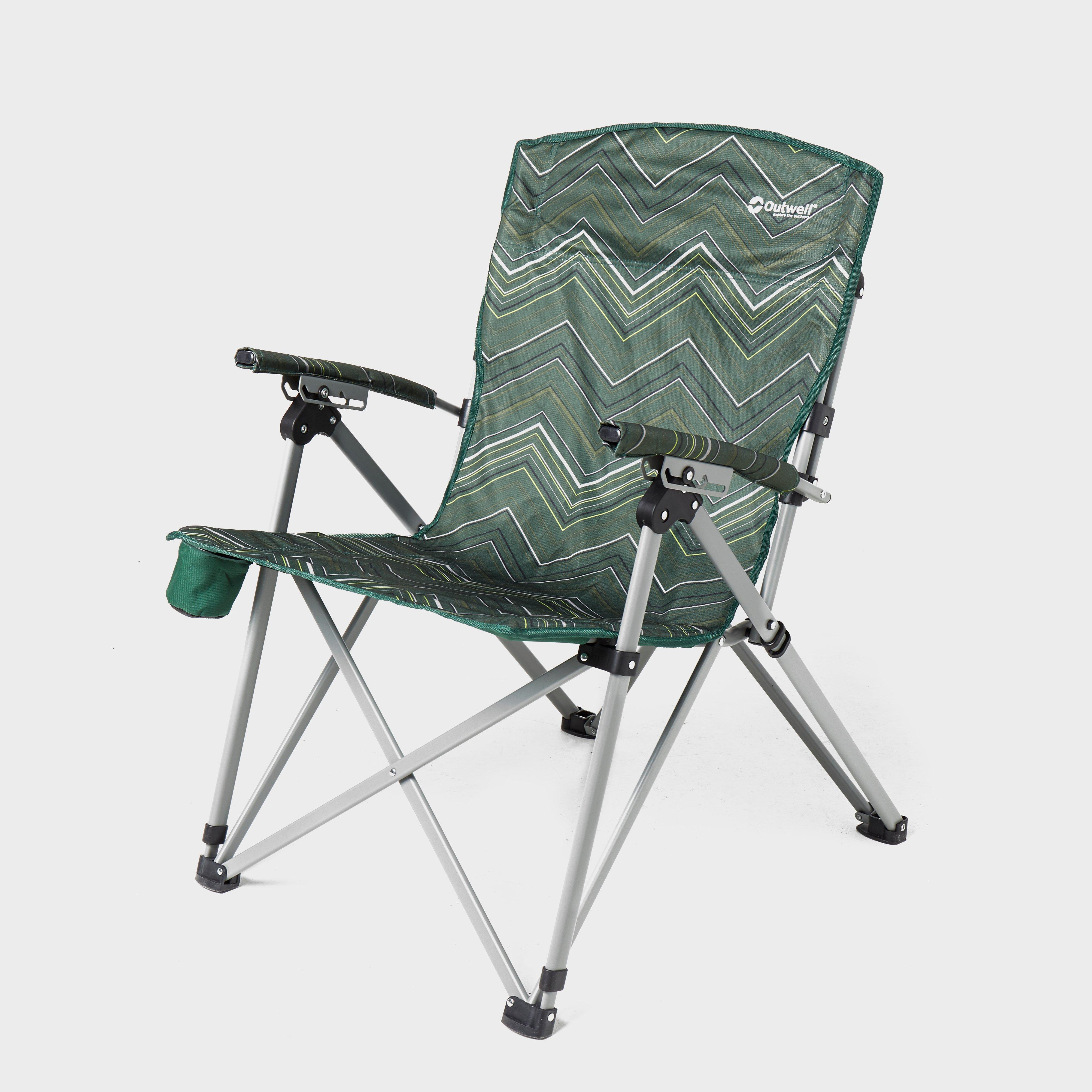 Green Outwell Palena Hills Camping Chair