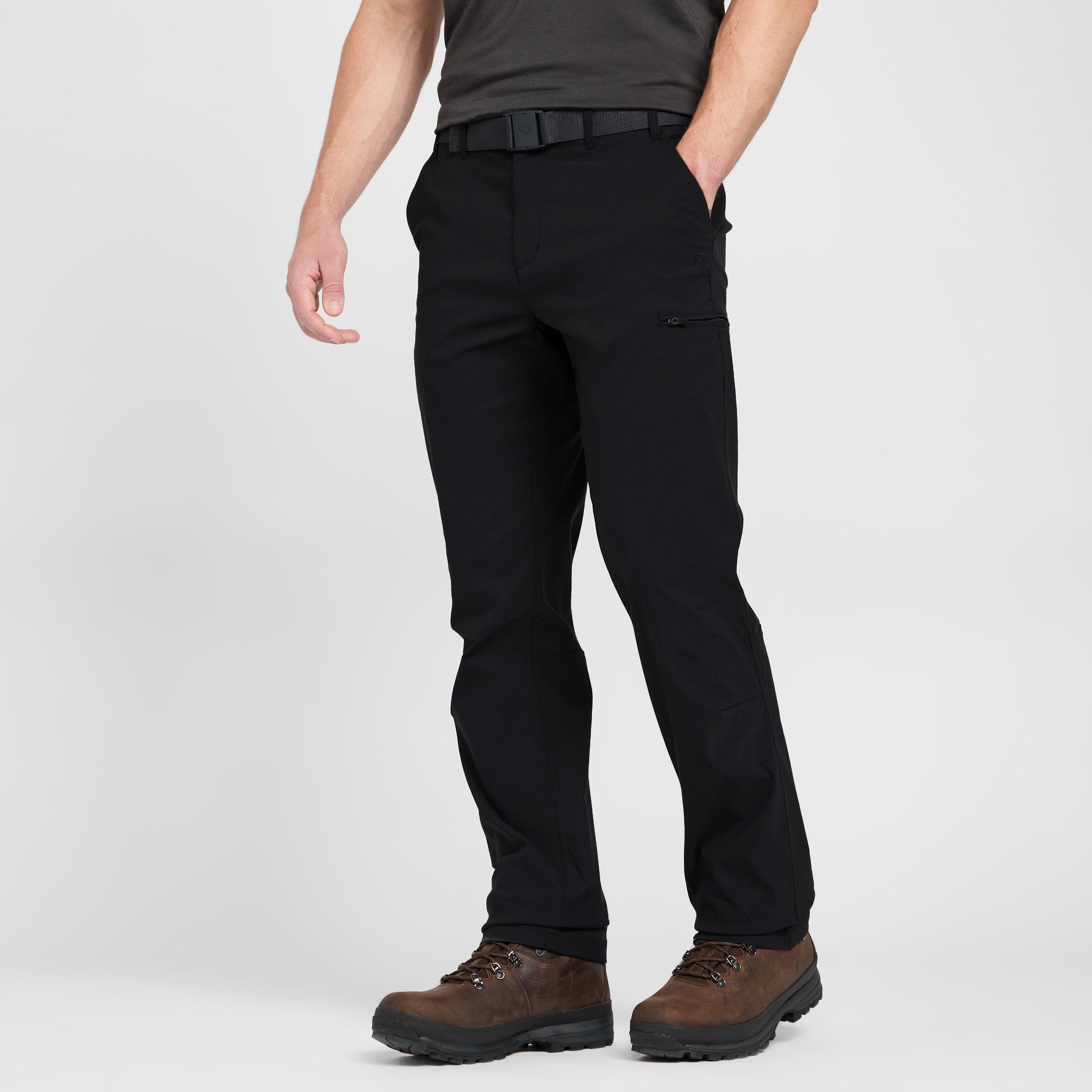 Brasher Mens Stretch Trousers - Black/black  Black/black