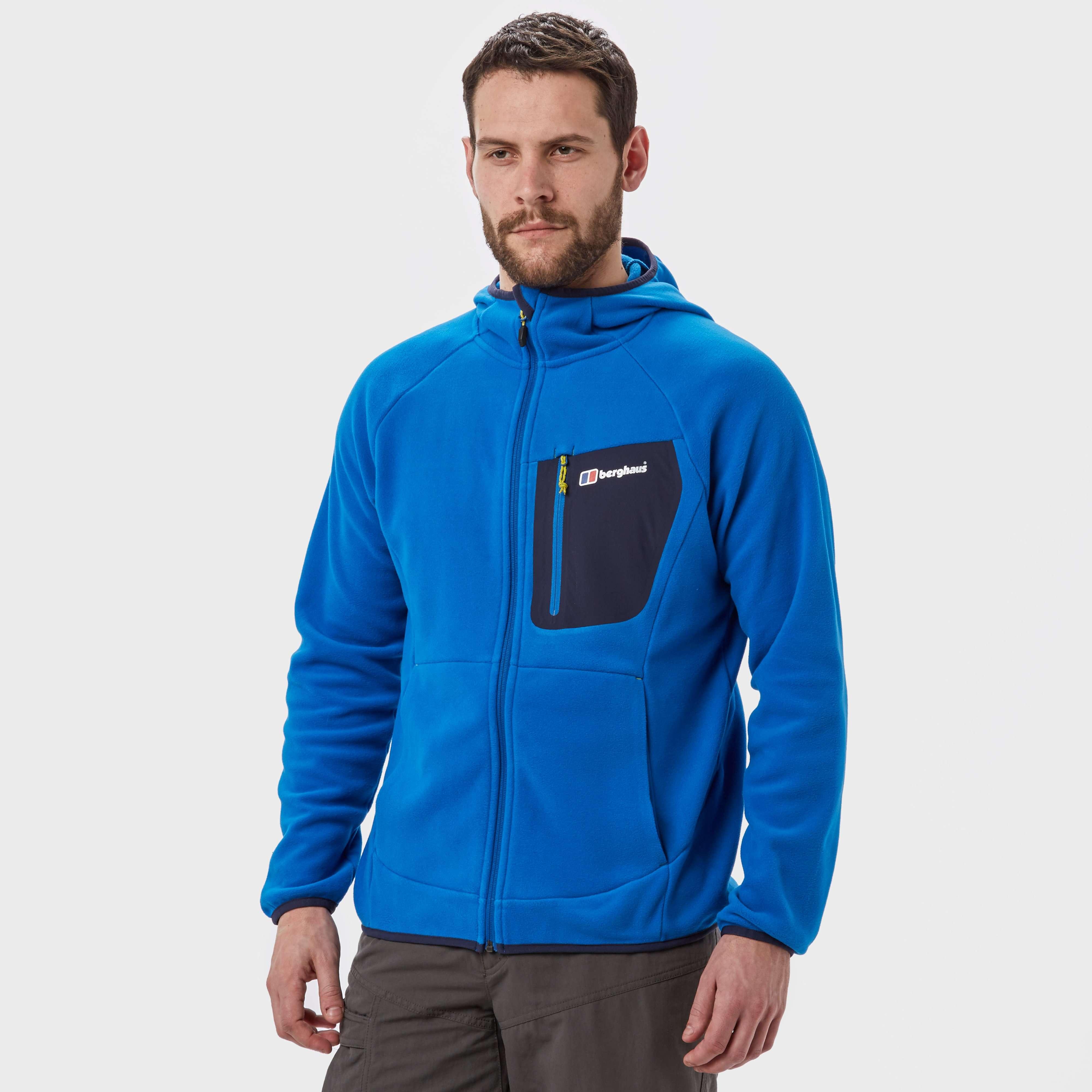 BERGHAUS Men's Deception Hooded Full-Zip Fleece