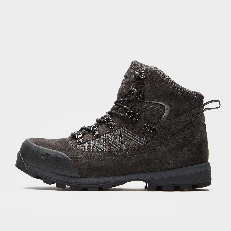 Brasher Mens Country Trekker Walking Boots - Brown/dgy  Brown/dgy