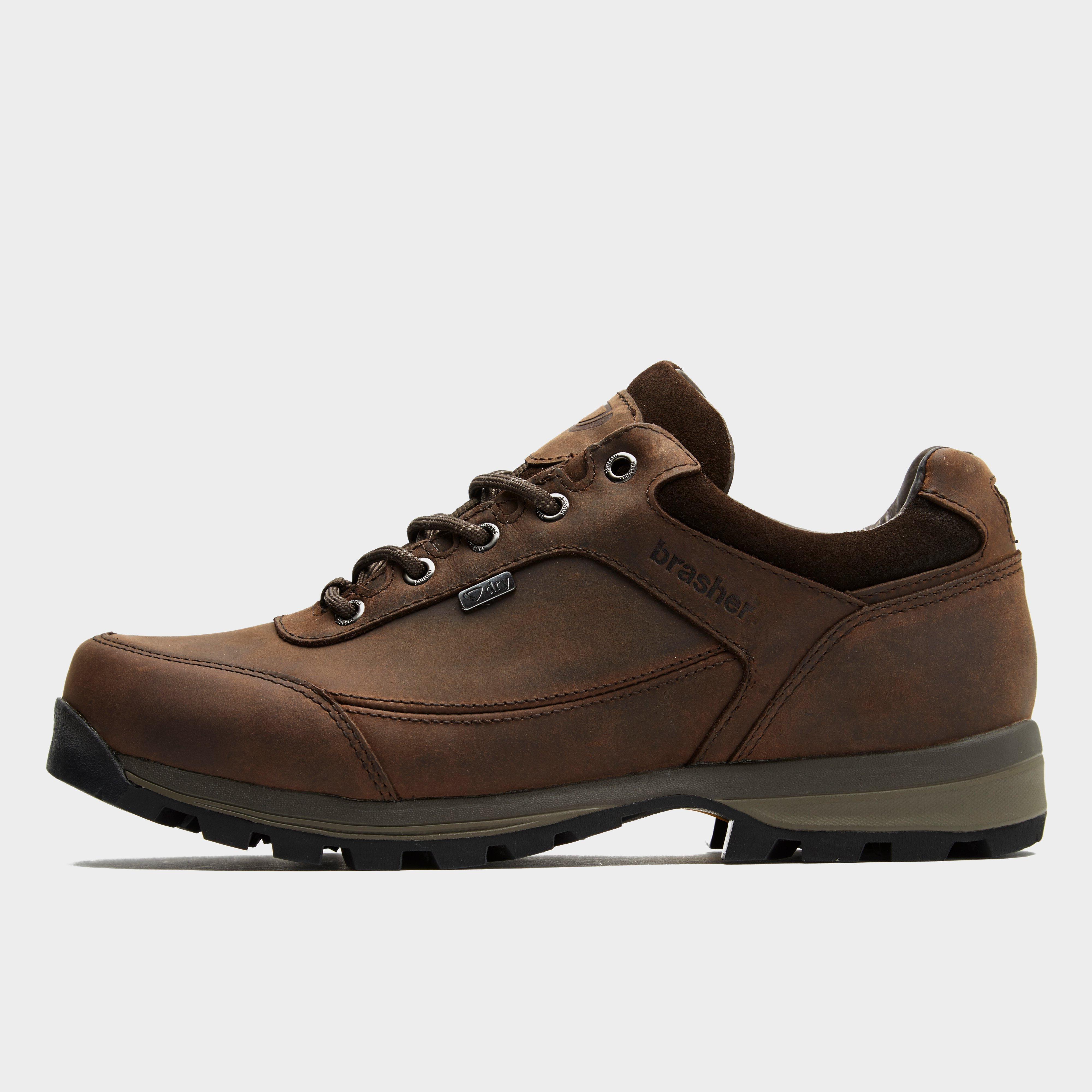 Brasher Mens Country Roamer Walking Shoe - Brown  Brown