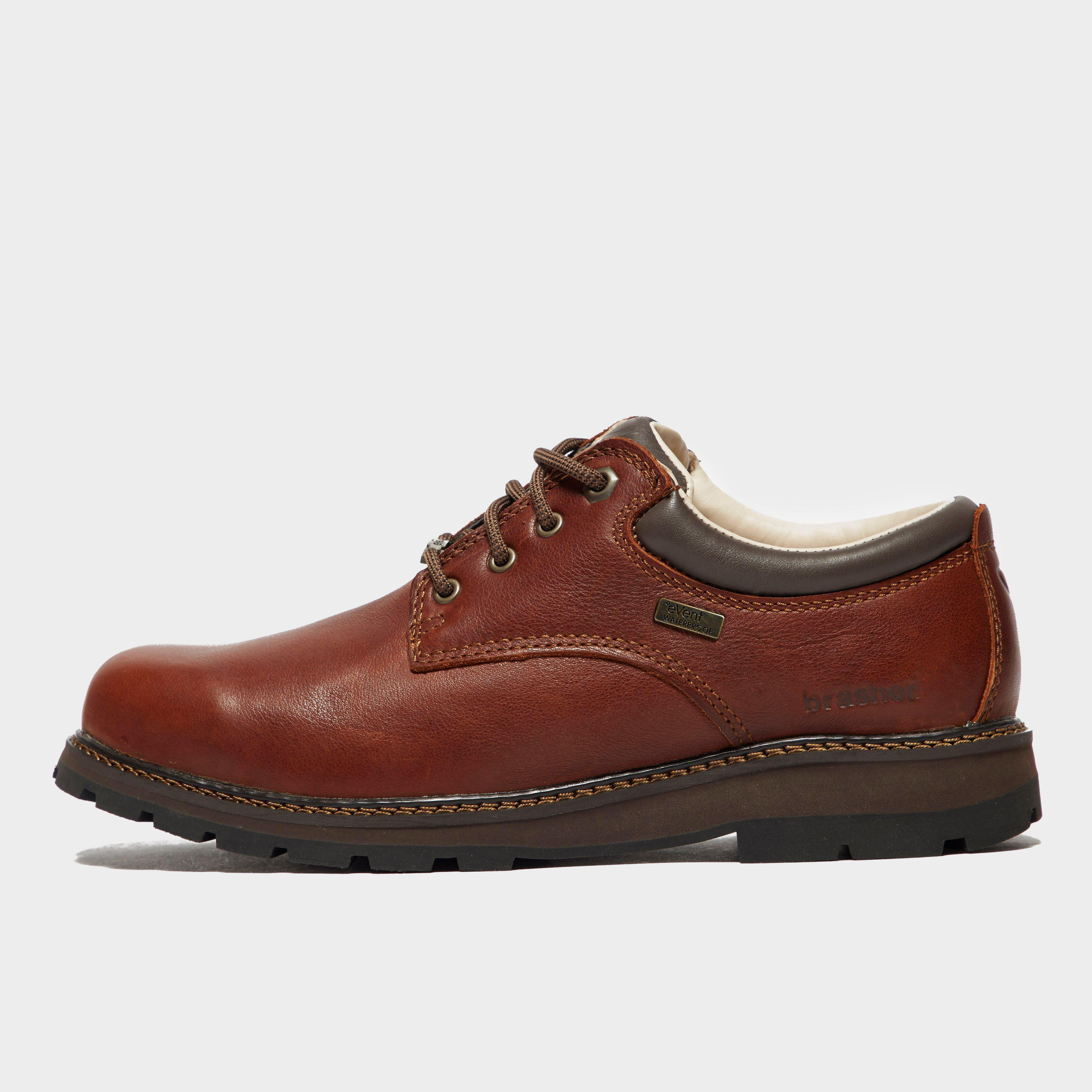 Brasher Mens Country Classic Walking Shoes - Brown/brn  Brown/brn