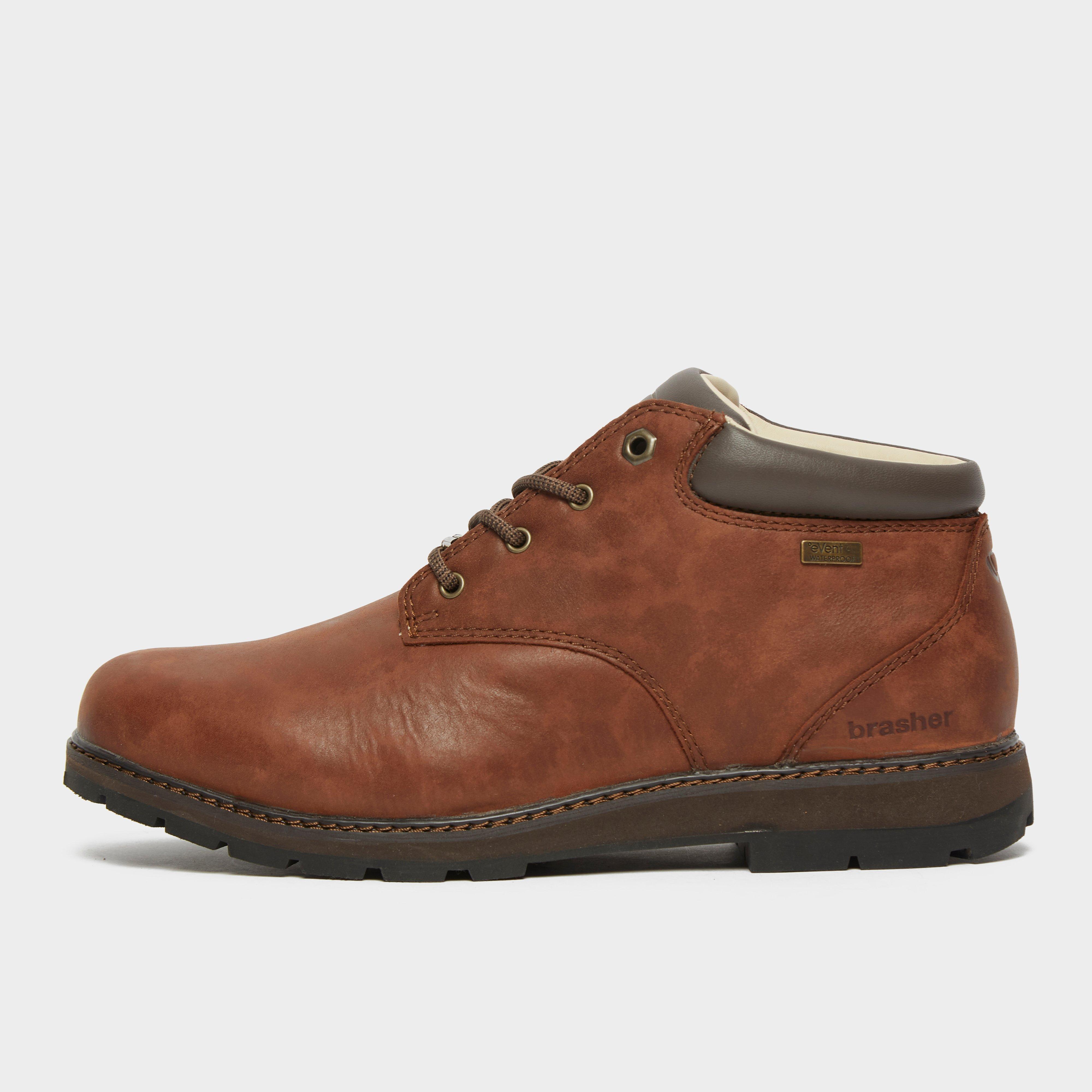 Brasher Mens Country Traveller Walking Shoes - Brown/brn  Brown/brn
