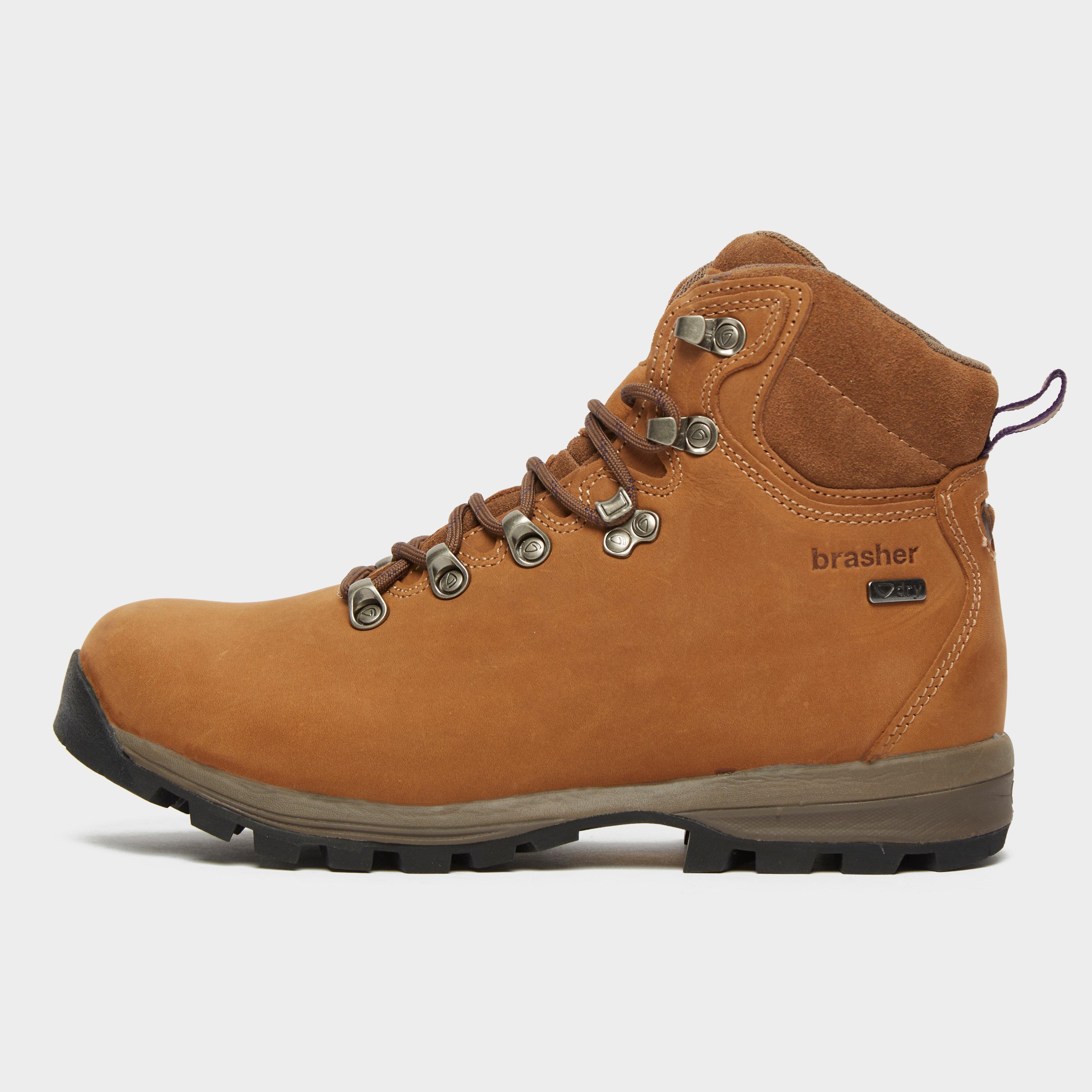Brasher Womens Country Walker Walking Boots - Brown/brn  Brown/brn