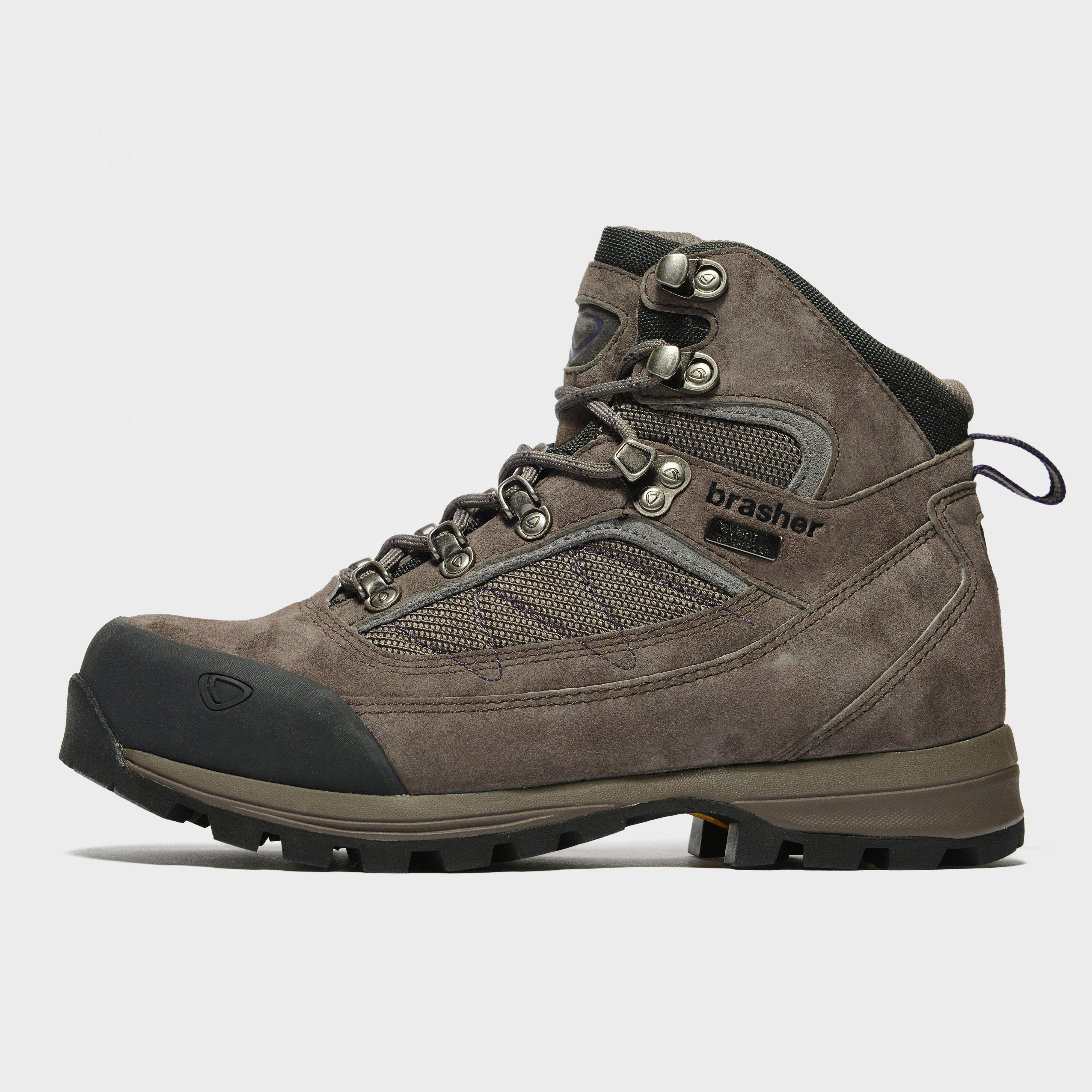 Brasher Womens Country Trekker Walking Boots - Grey/dgy  Grey/dgy