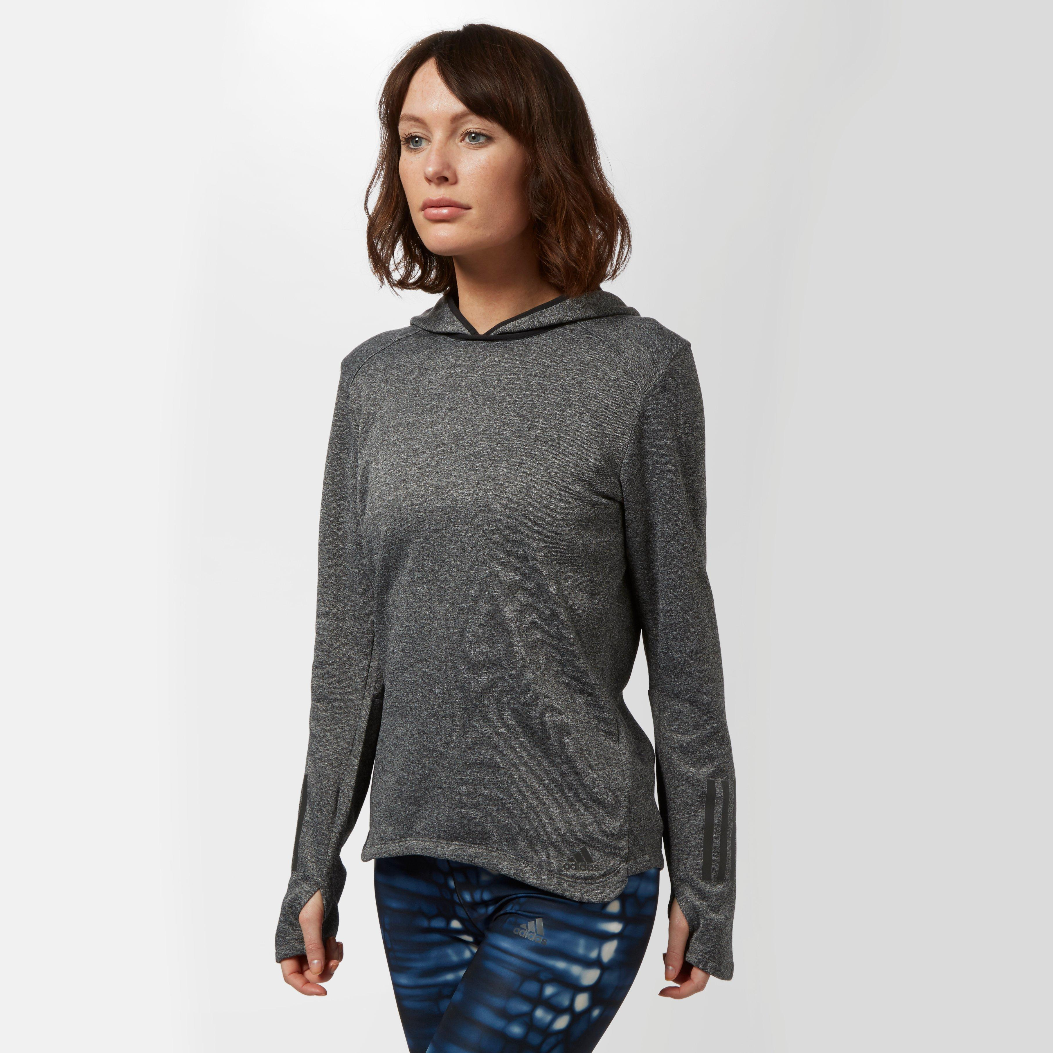 Photo of Adidas womens response astro hoodie - grey- grey