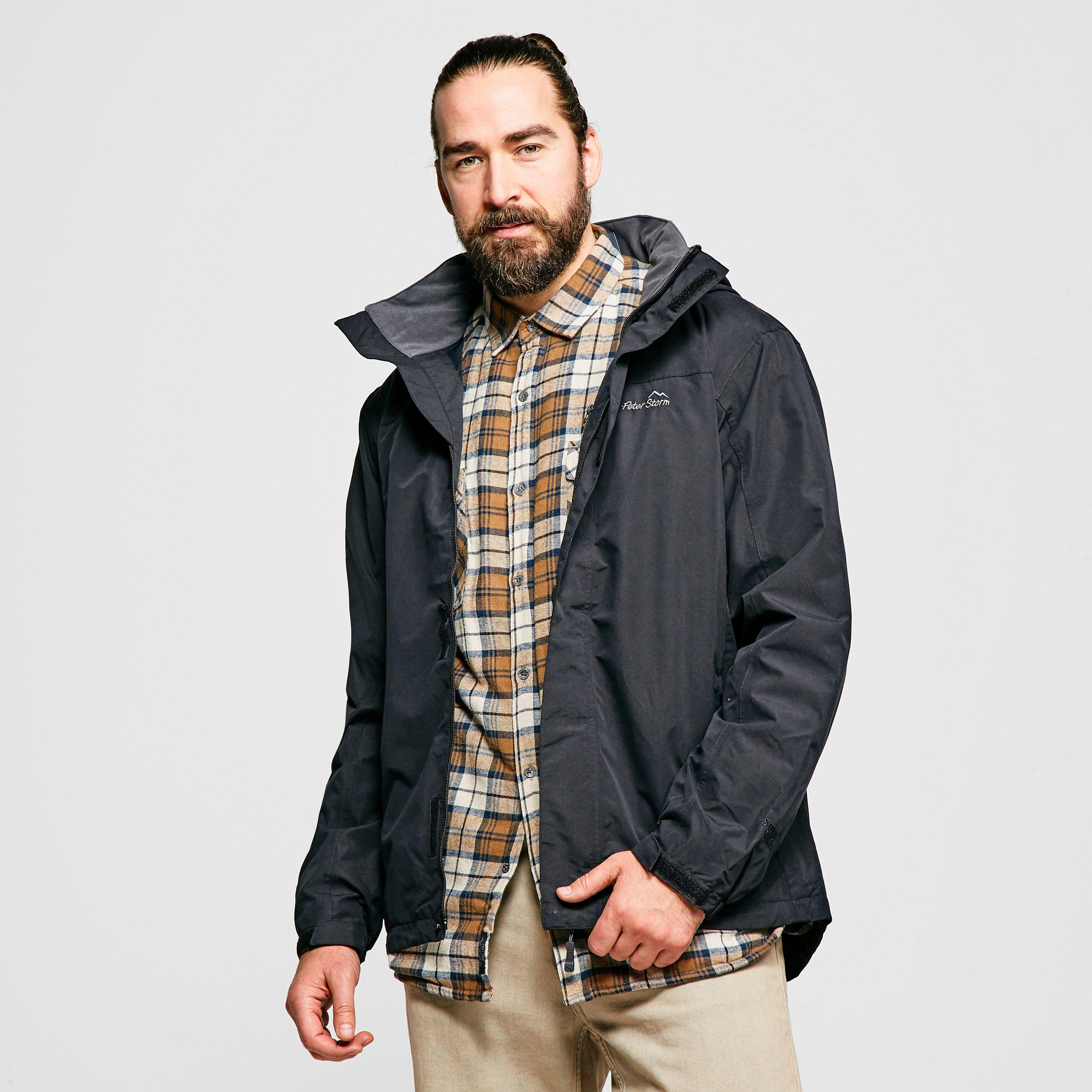 PETER STORM Men's Downpour 2-Layer Jacket