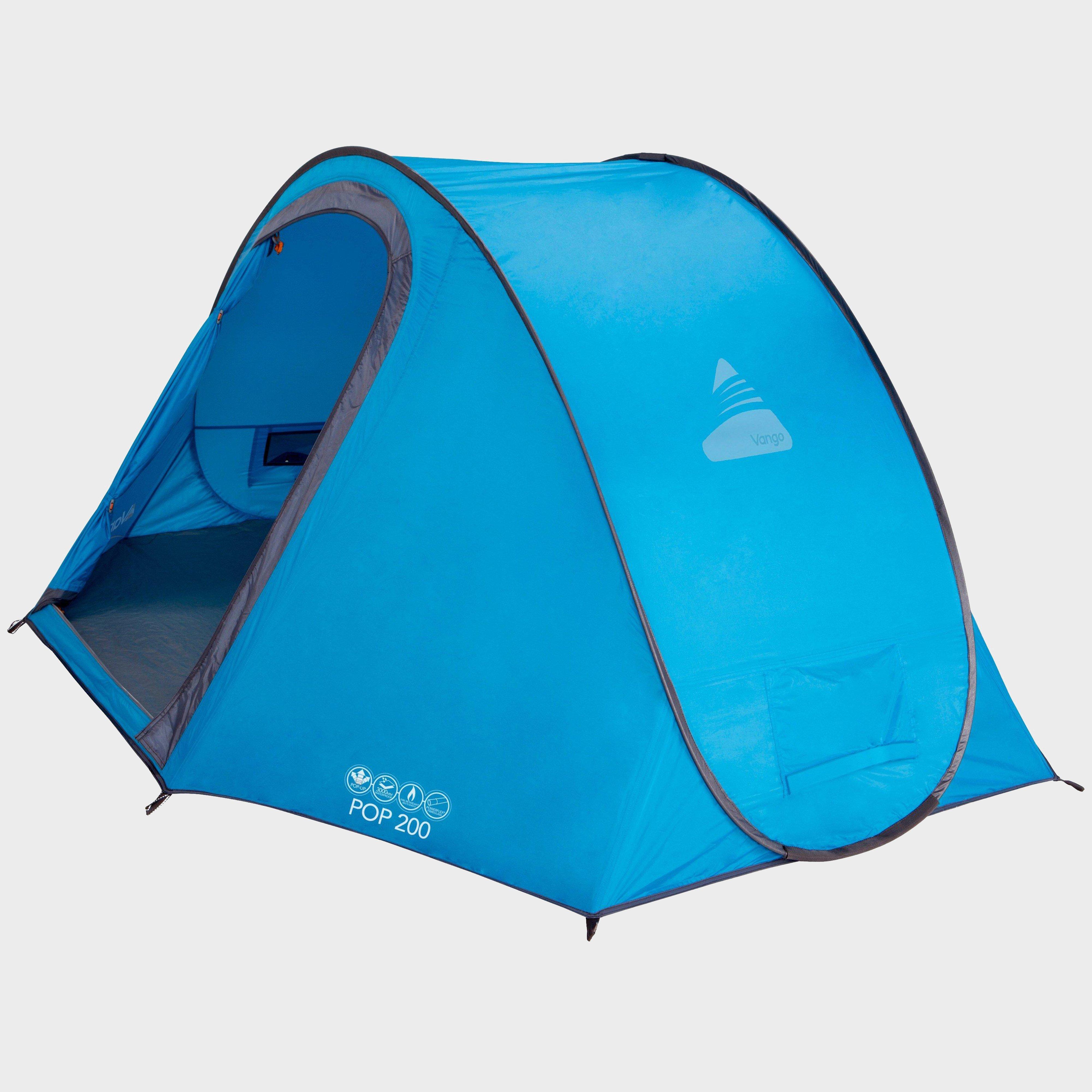 Vango Pop 200 2 Person Tent  Blue Blue