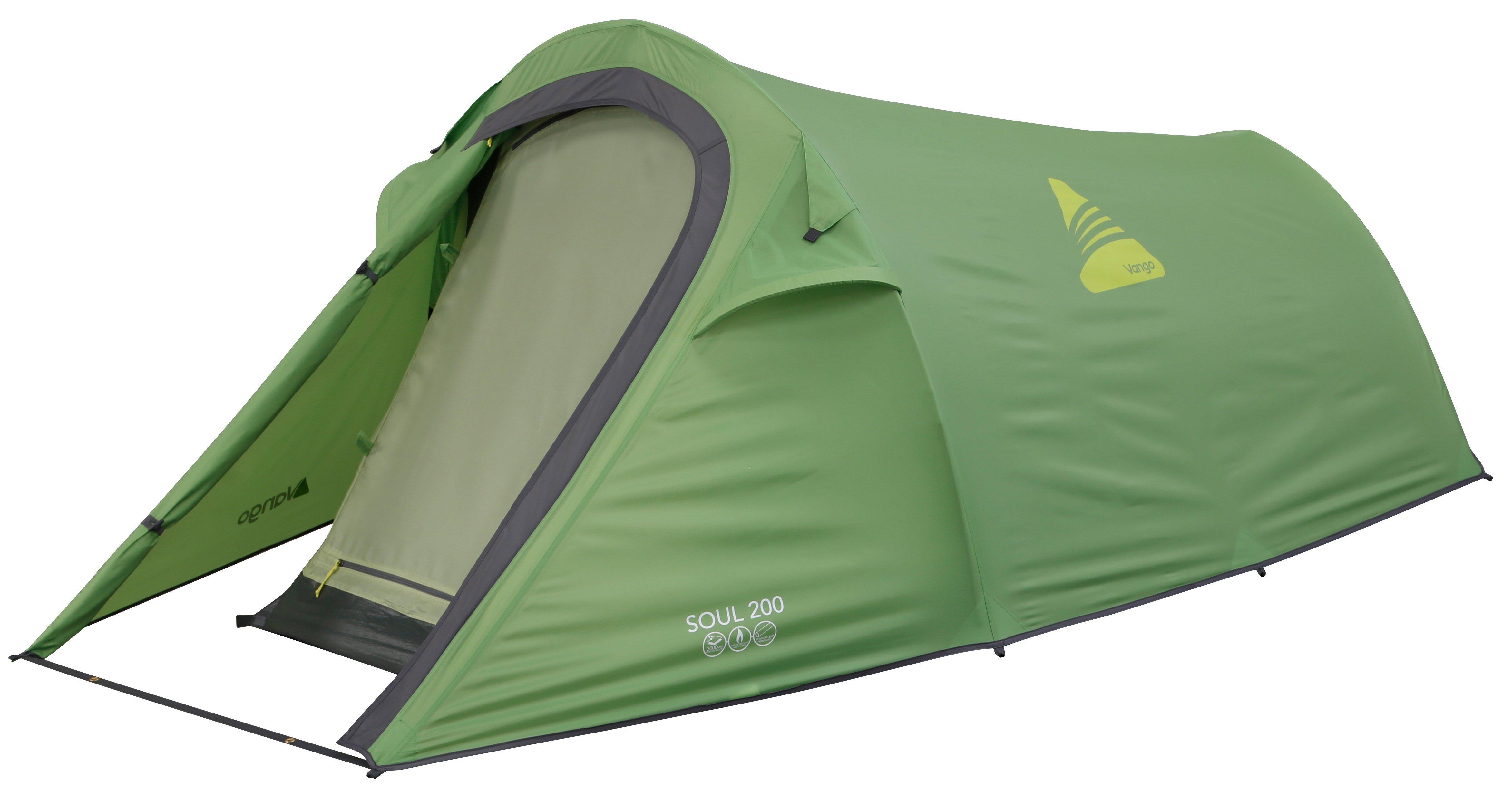 Vango Soul 200 2 Person Tent  Green Green
