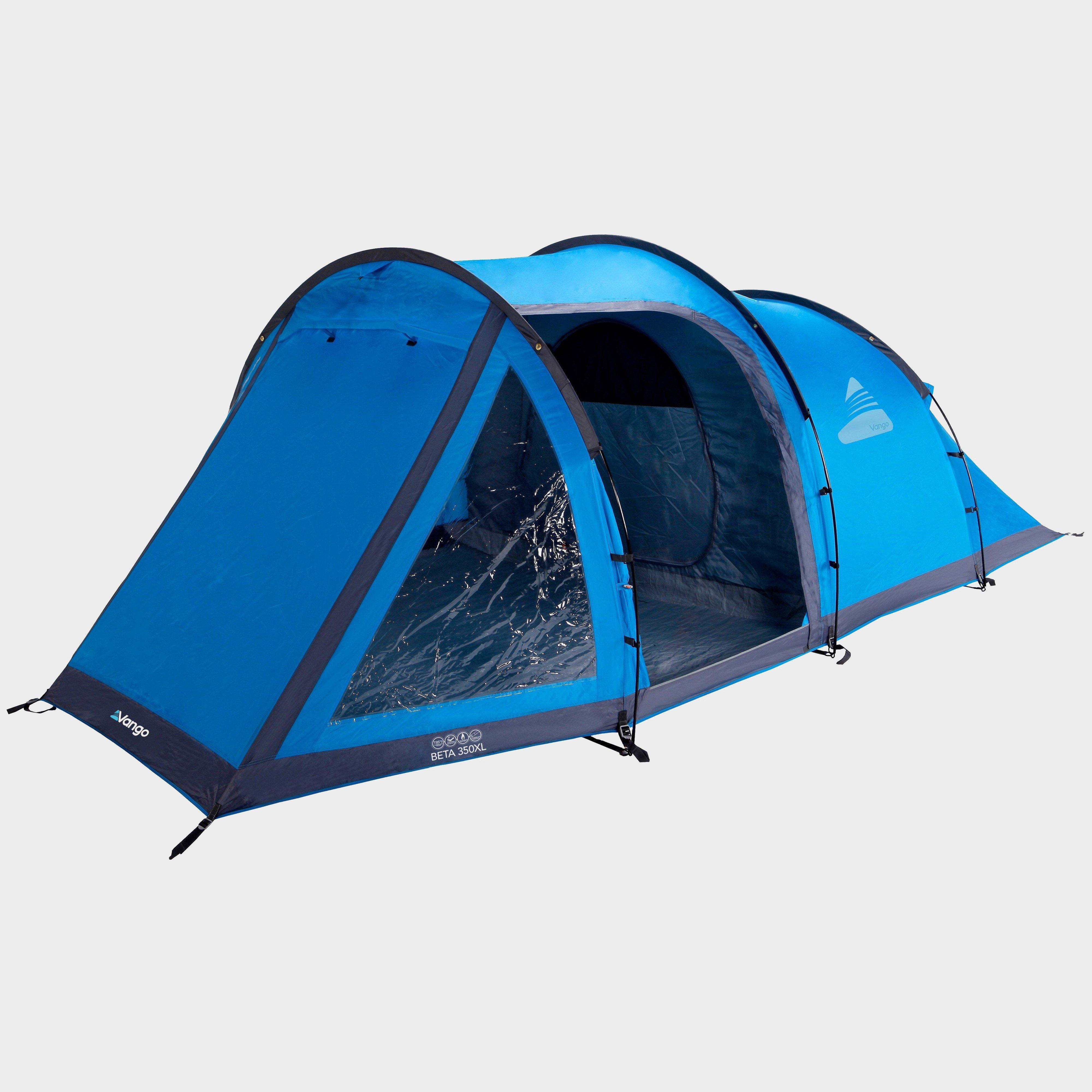 Vango Beta 350XL 3 Person Tent - Blue, Blue