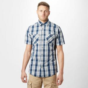 BRAKEBURN Men's Check Short Sleeve Shirt