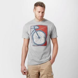 BRAKEBURN Men's Bike Poster T-Shirt