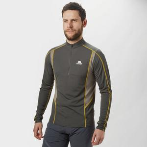 MOUNTAIN EQUIPMENT Men's Crux Long Sleeve Zip T-Shirt