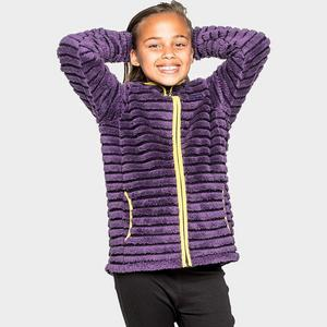 CRAGHOPPERS Girl's Appleby Full Zip Hooded Fleece