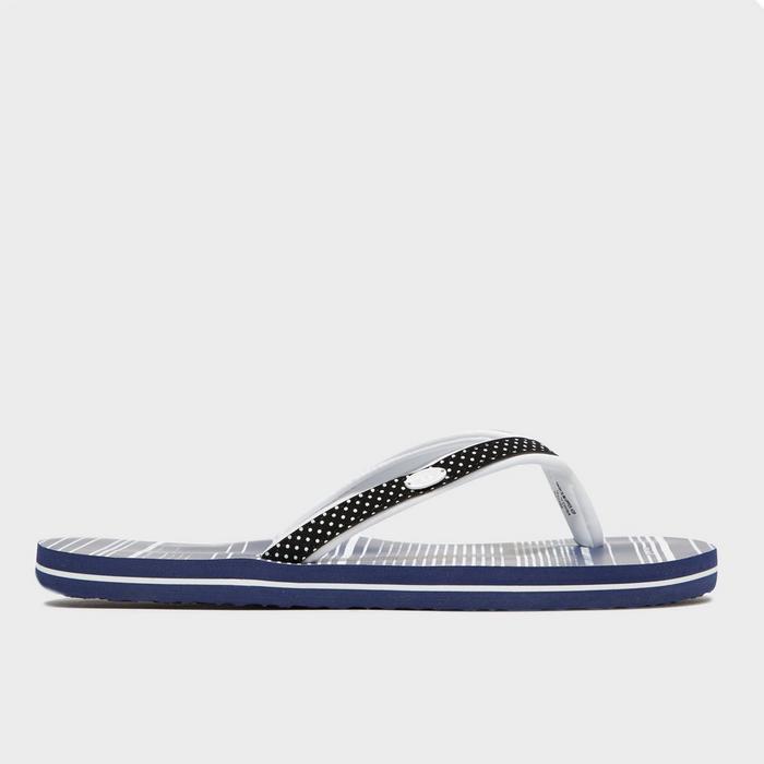 Women's Swish Slim Flip Flops AOP