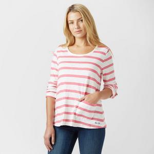 WEIRD FISH Women's Bollywood Stripe Long Sleeve T-Shirt