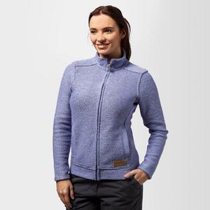 WEIRD FISH Women's Wilderness Full Zip Macaroni Fleece
