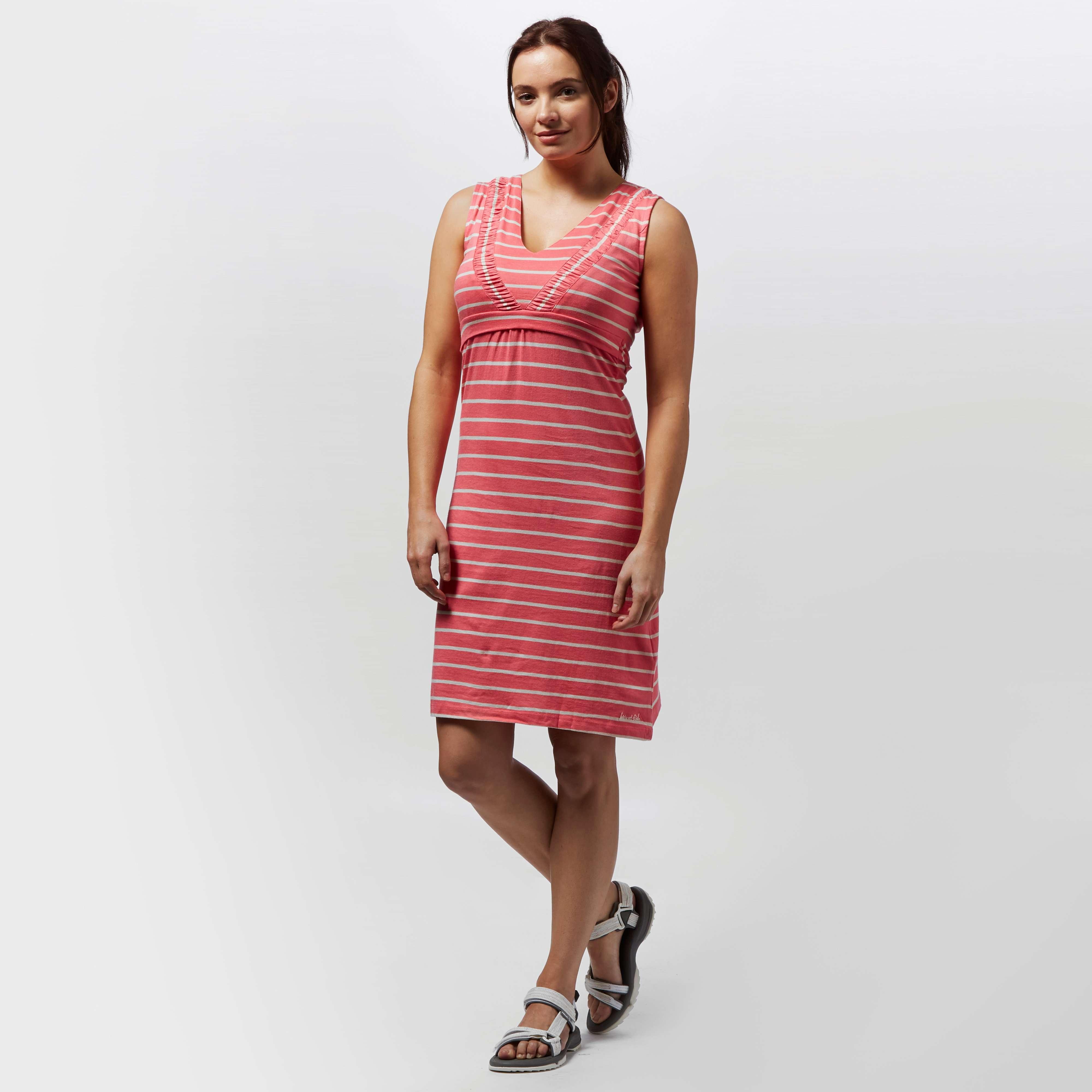 WEIRD FISH Women's Gandhak Stripe Jersey Dress