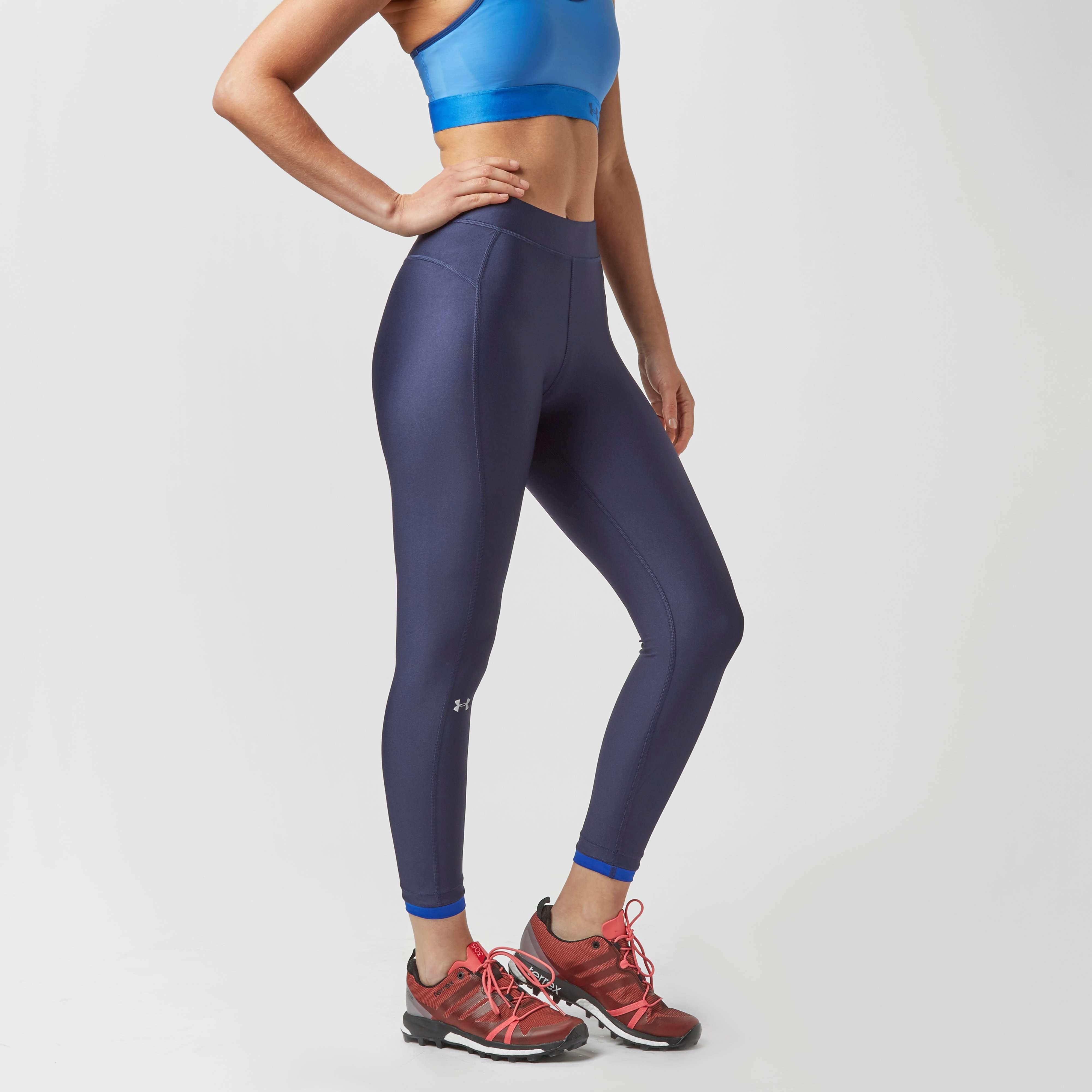 UNDER ARMOUR Women's UA HeatGear® Armour Ankle Crop Leggings