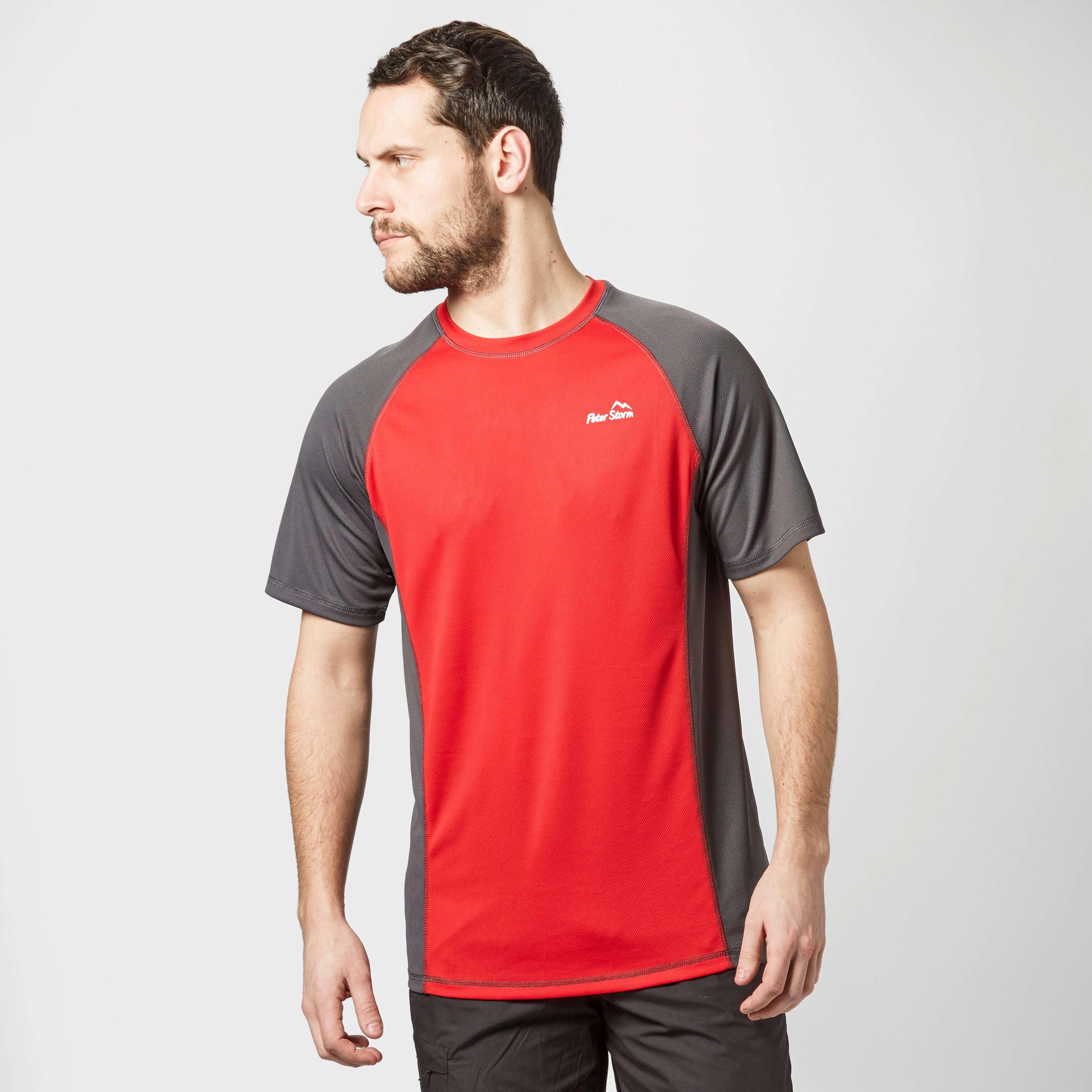 PETER STORM Men's Short Sleeve Tech T-Shirt